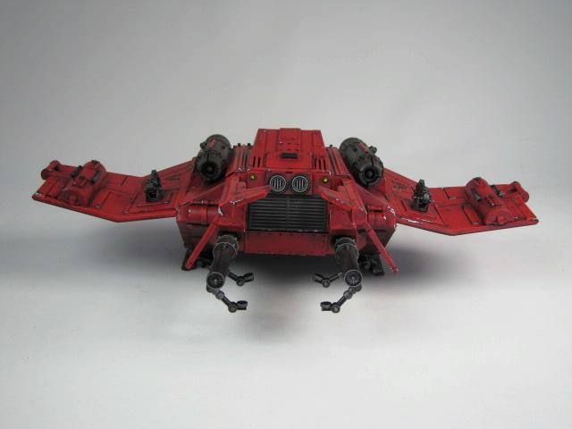 Blood Angels, Drop Ship, Space Marines, Storm Raven