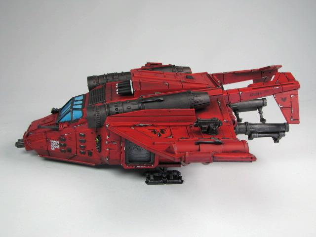 Blood Angels, Drop Ship, Space Marines, Storm Raven