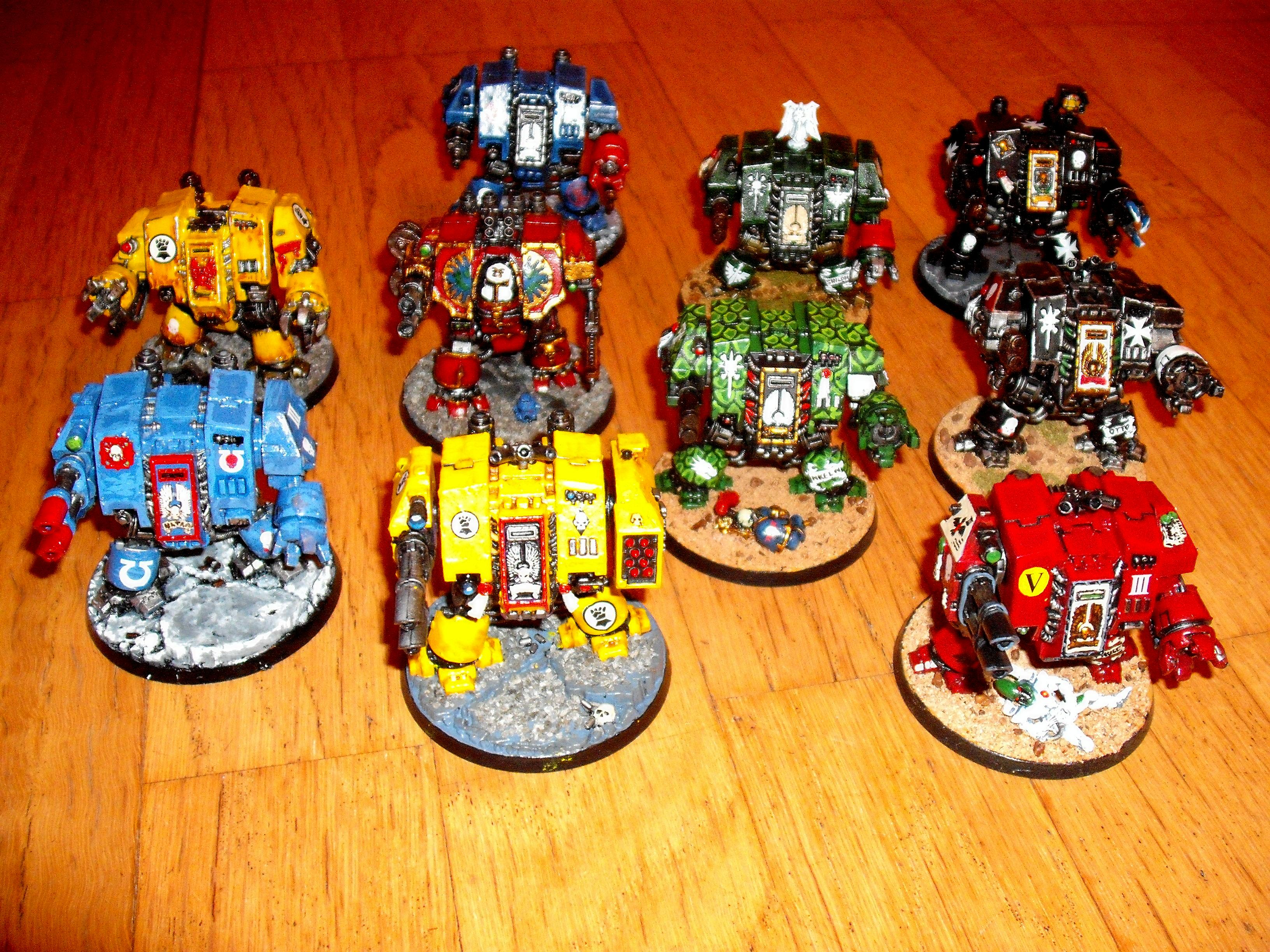 Dreadnought, Space Marines, Space Marines Dreadnoughts