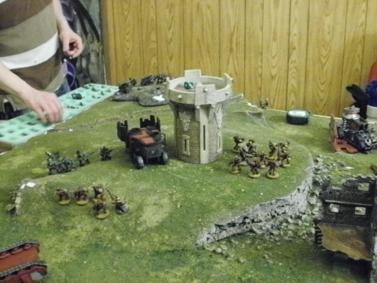 Battle Report, SW turn 5 west