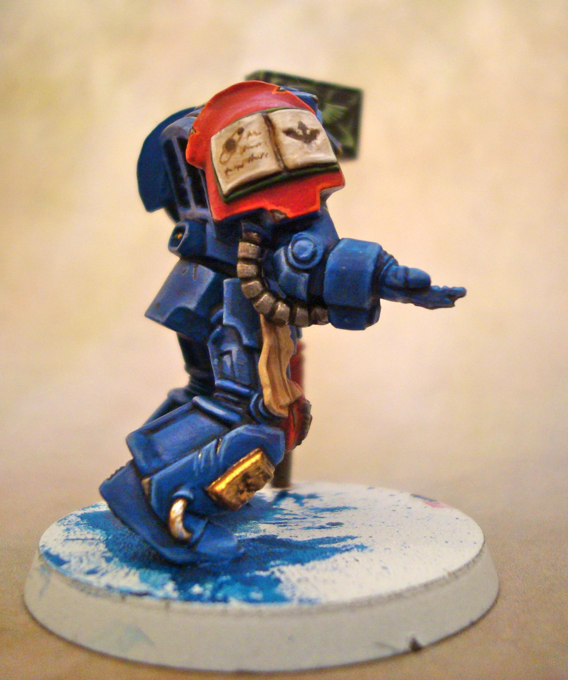 Freehand, Librarian, Space Marines
