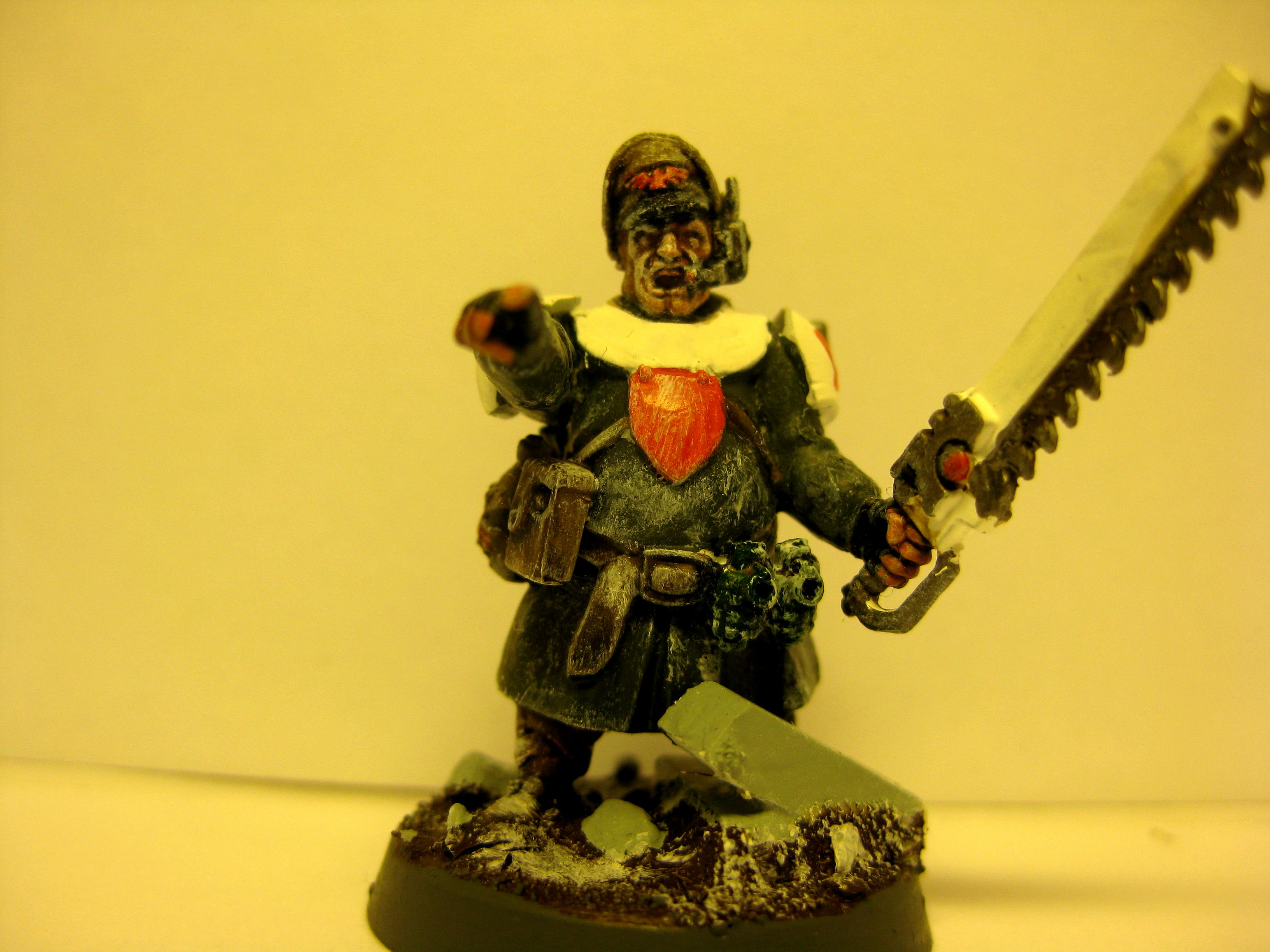 Conversion, Imperial Guard, Seargent, Valhallans, Warhammer 40,000