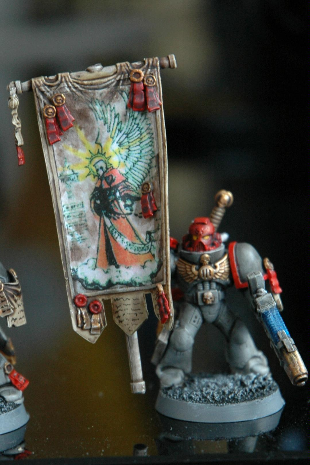 Banner, Hand Painted, Space Marines