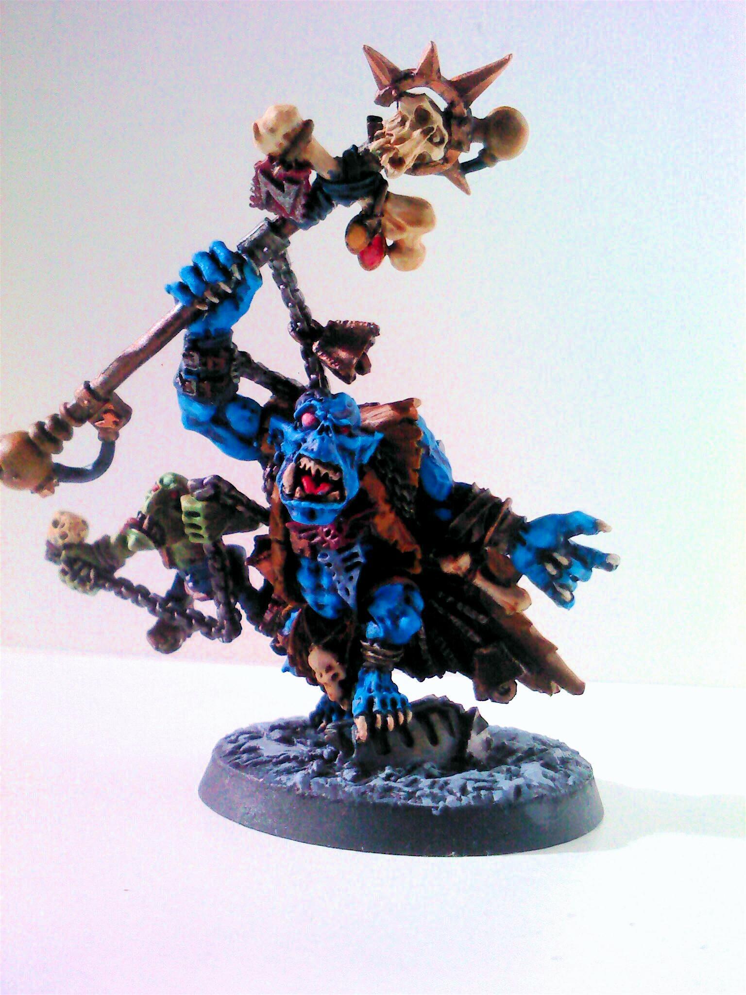 Blue, Orks, Phycar, Weirdboy, Wierdboy