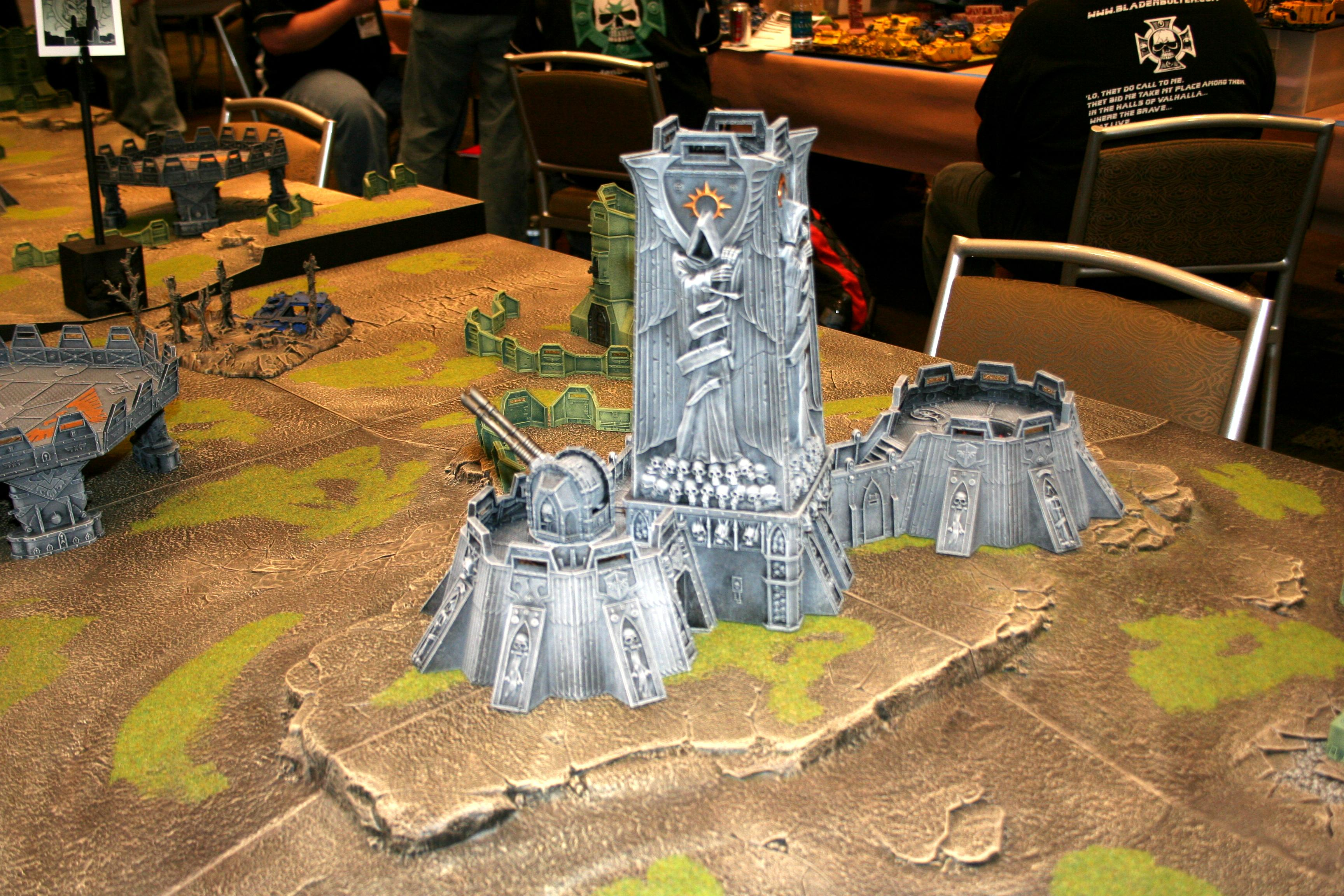 Adepticon 2010, Fortress Of Redemption, Terrain