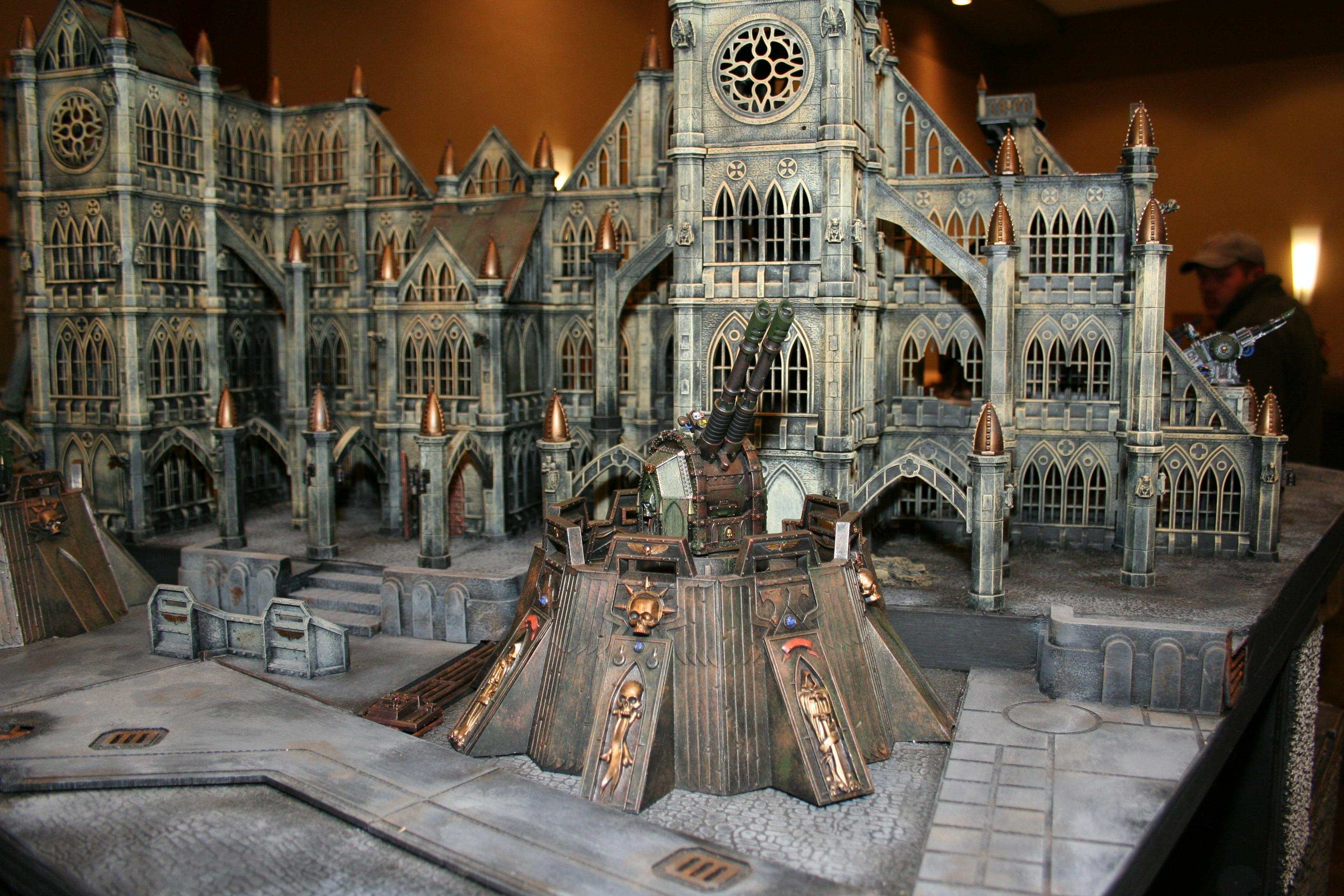 Adepticon 2010, Cathedral, Pegasus, Terrain, Warhammer 40,000