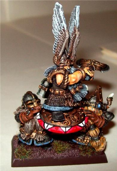 Alrik, Axe, Dwarves, Helm, King, Plaquain, Warhammer Fantasy, Winged