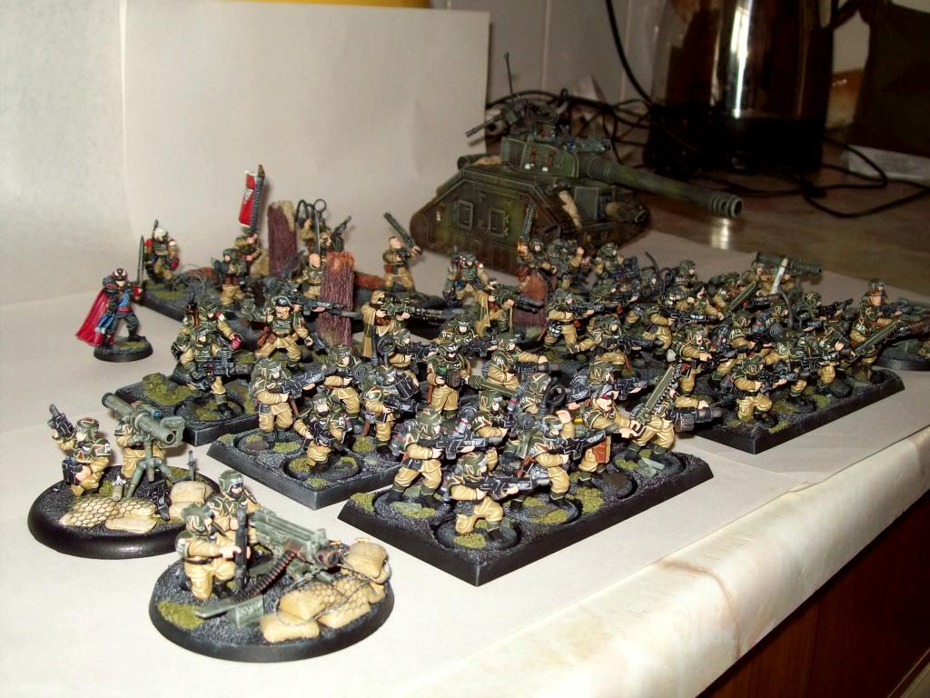 Cadians, Imperial Guard, Movement Tray