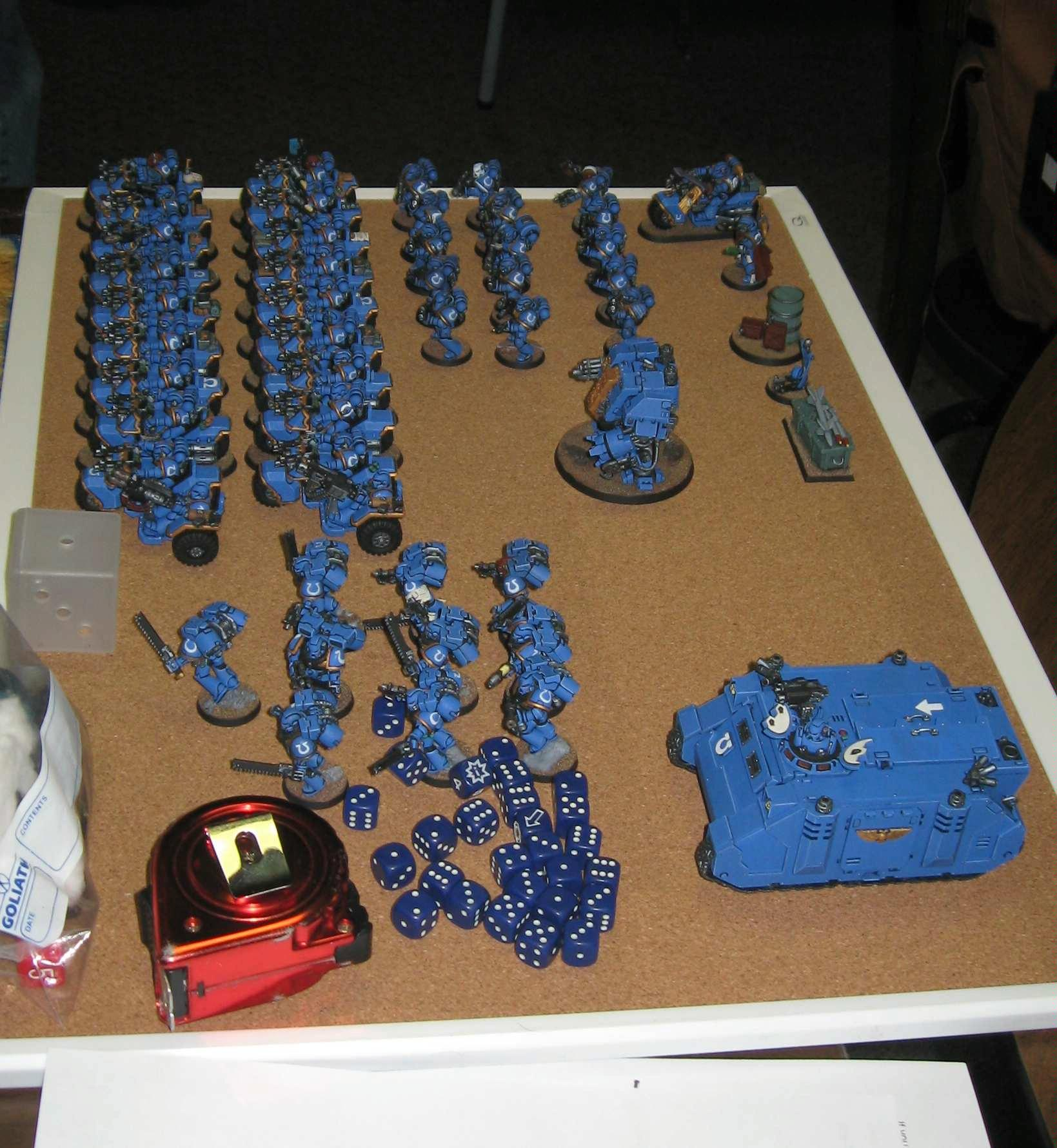 Tournament, Todd's Ultramarines army
