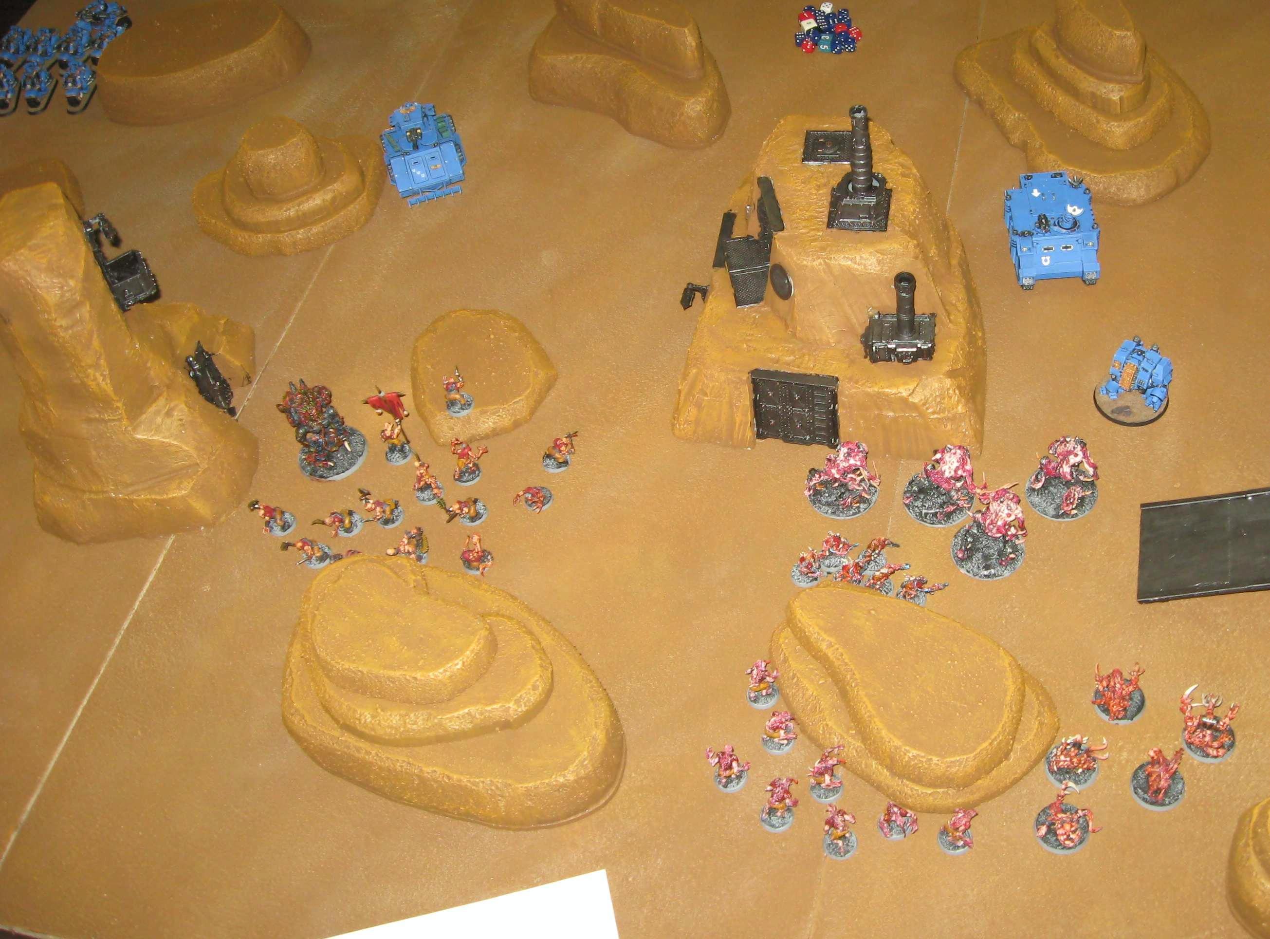 Desert, Game Table, Tournament