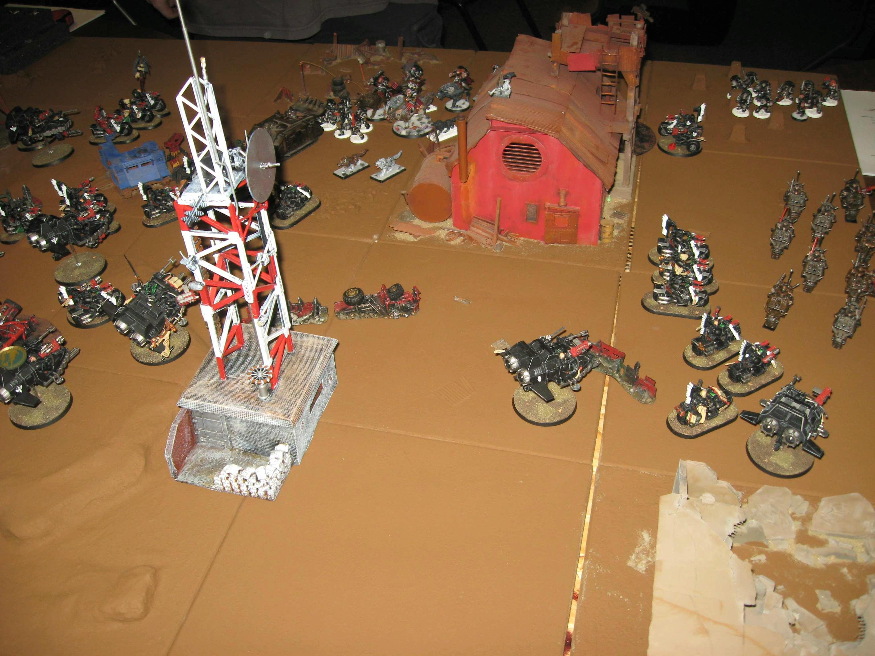 Army, Tournament, Mike's Ravenwing, vs Space Wolves