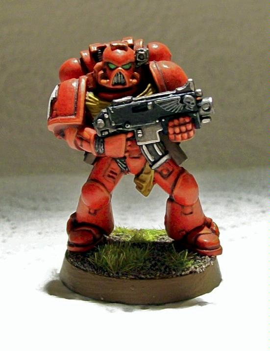 Blood Angels, Space Marines, Tactical Squad, Warhammer 40,000