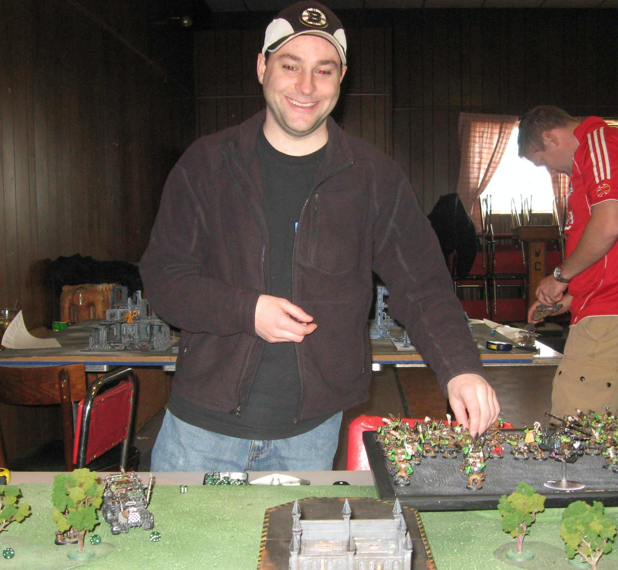 Battle Report, Daemons, Tournament