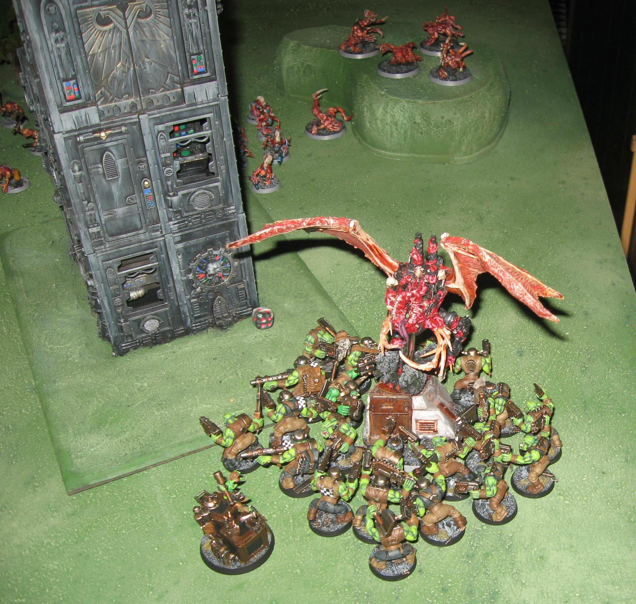 Battle Report, Bloodthirster, Daemons, Tournament