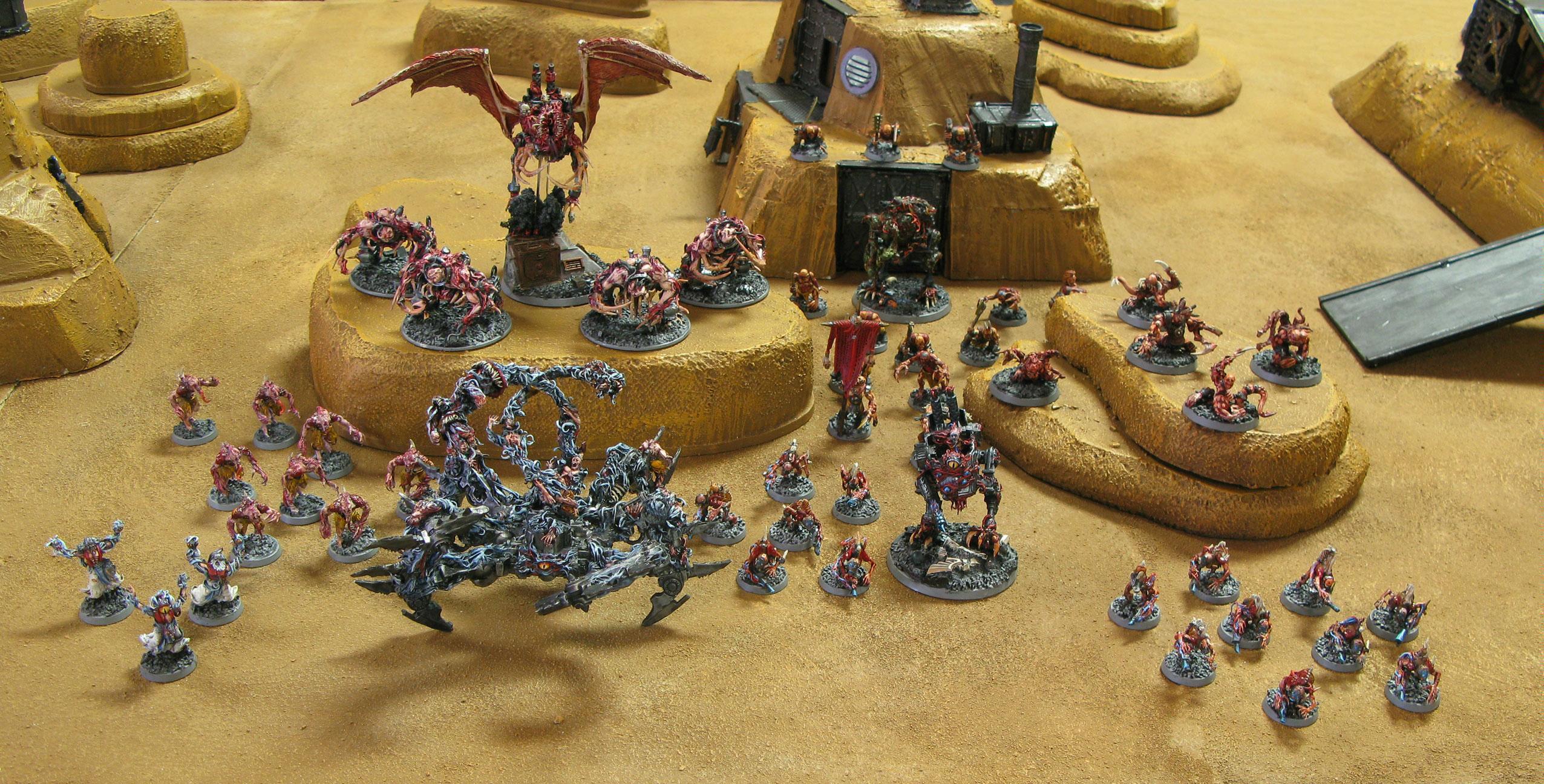 Army, Chaos Daemons, Conversion, Daemons, Warhammer 40,000