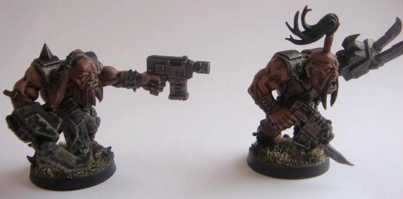 Ogres, Orks, Warhammer 40,000