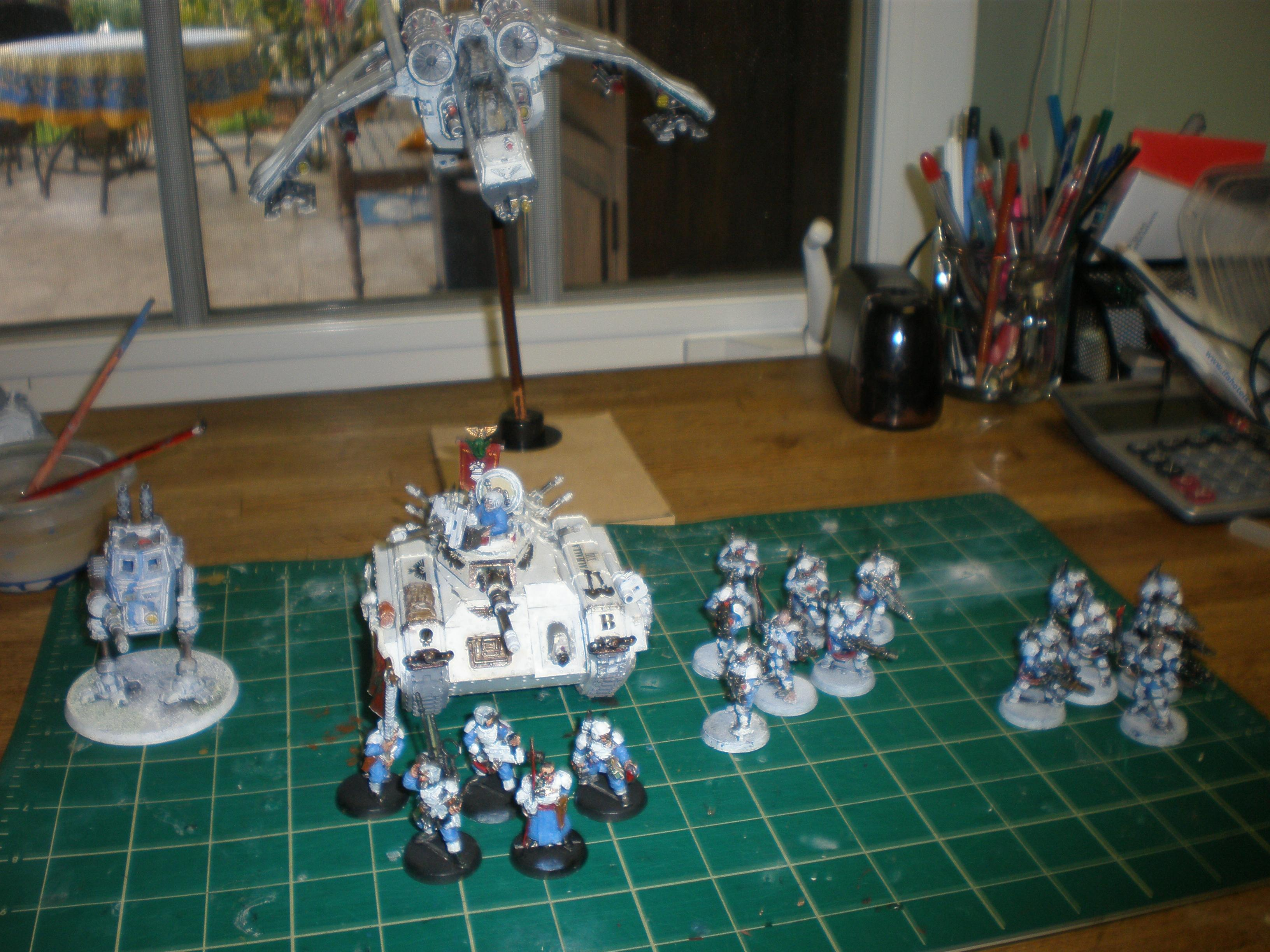 Here are the units that have been finished so far.....