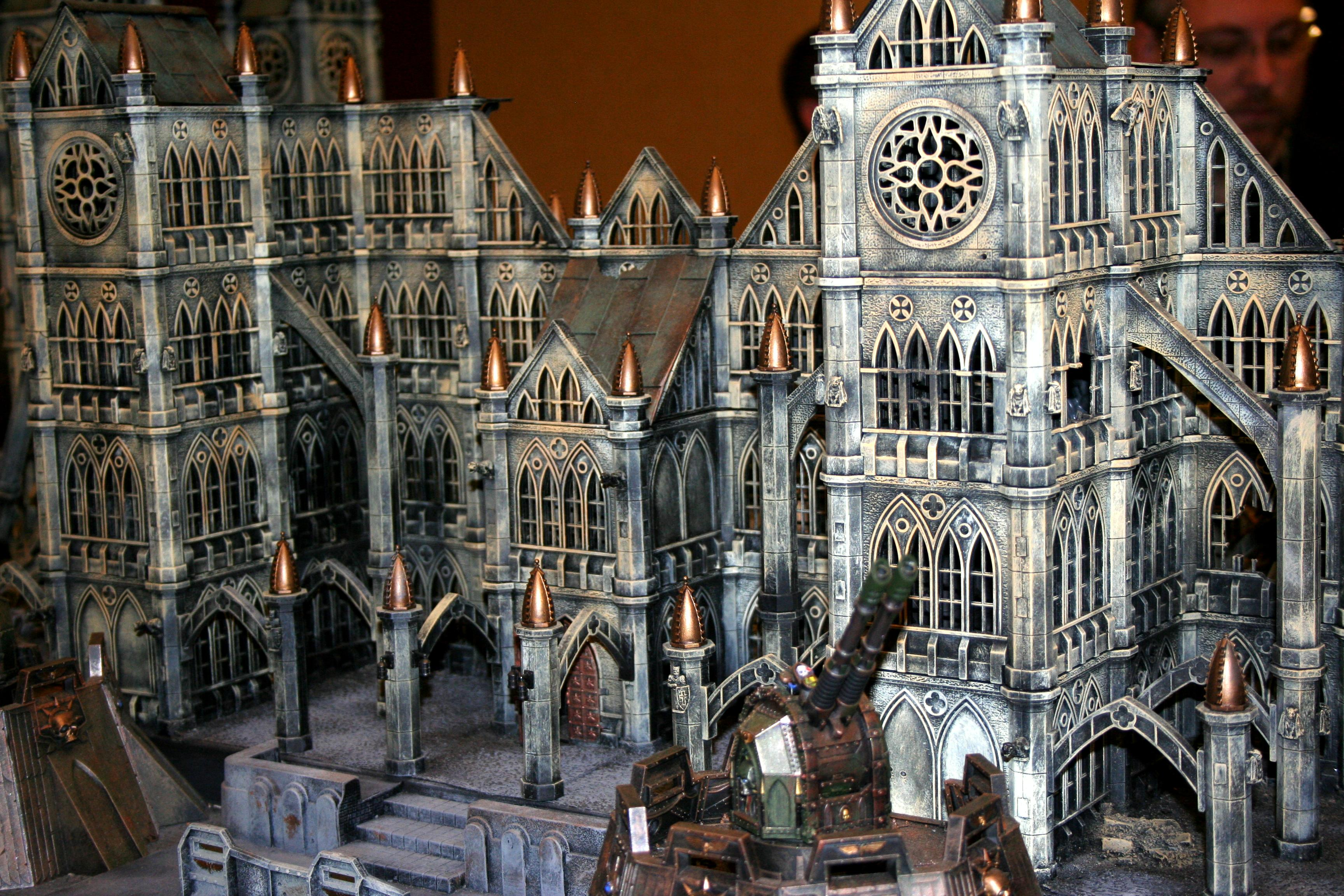 Adepticon, Big, Cathedral, Display, Huge, Large, Pegasus, Terrain