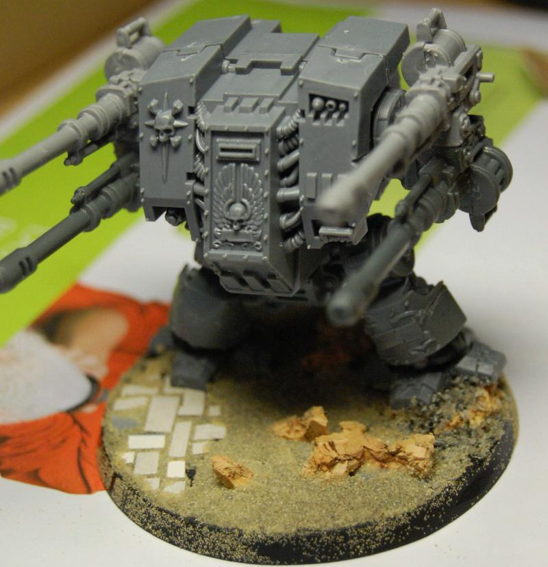 Autocannon, Conversion, Dreadnought, Space Marines