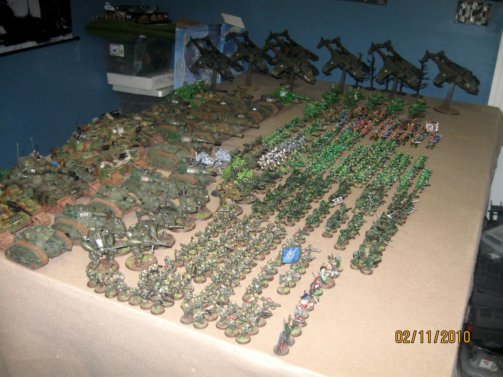 Armored Company, Army, Cadians, Huge, Imperial Guard, Valkyrie