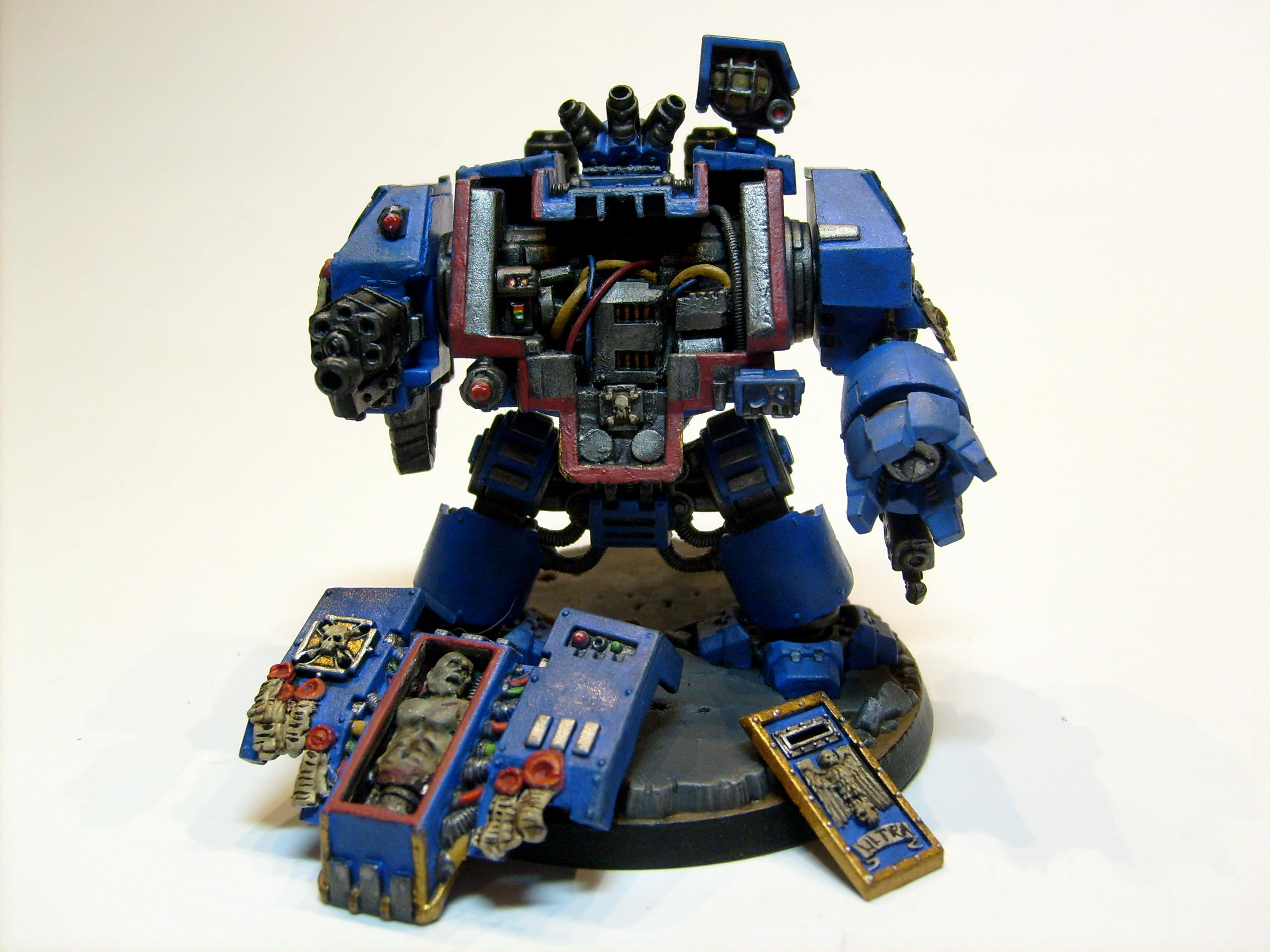 Dreadnought, Free Sculpt, Interior, Space Marines