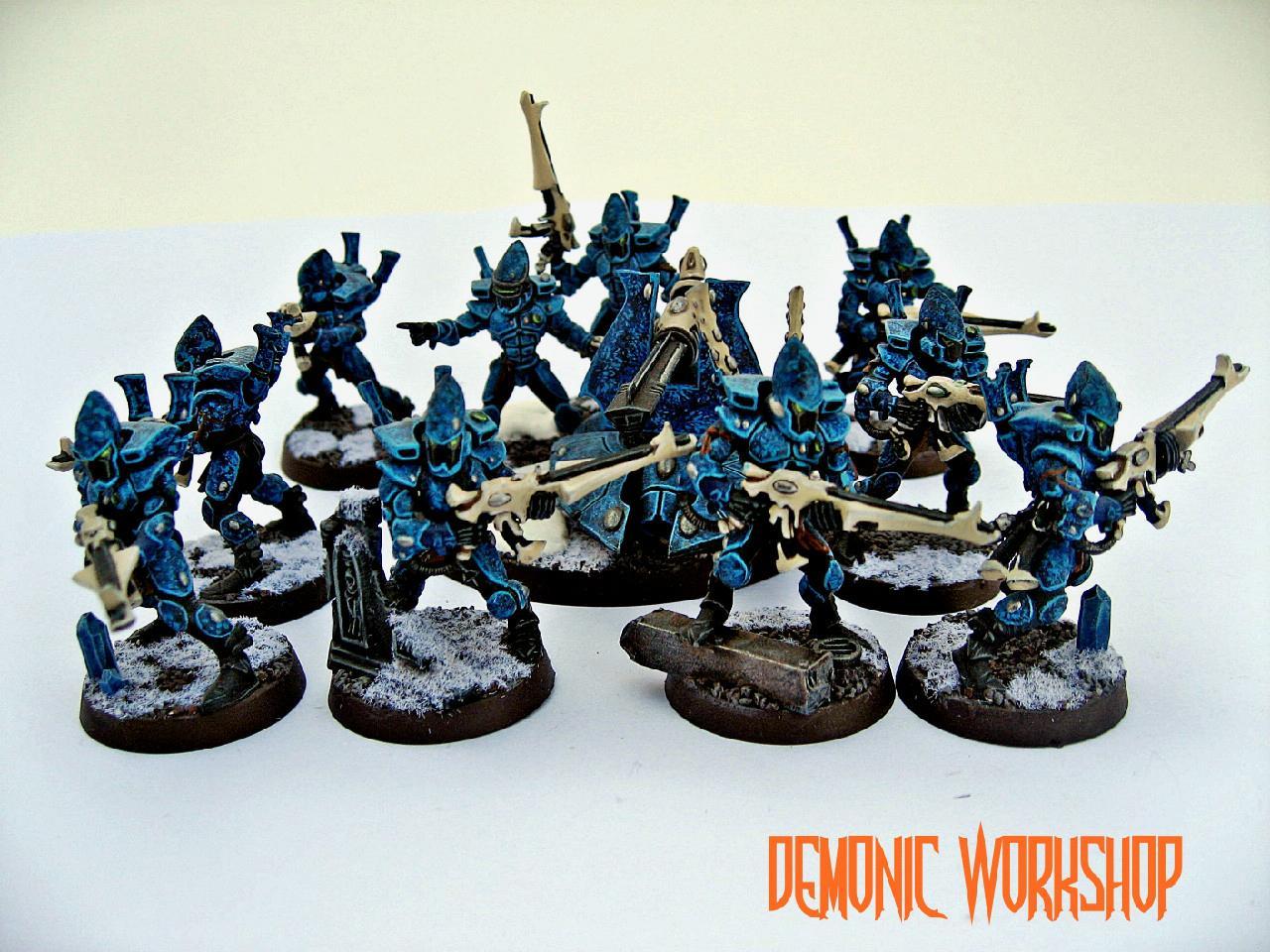 Demonic Workshop, Eldar, Guardians, Warhammer 40,000