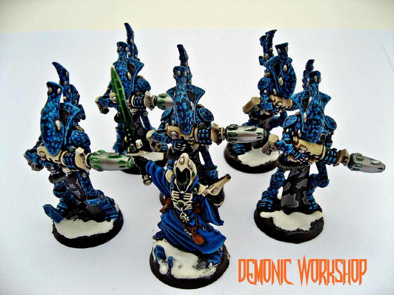 Demonic Workshop, Eldar, Snow, Warhammer 40,000, Warlock, Wraithguard