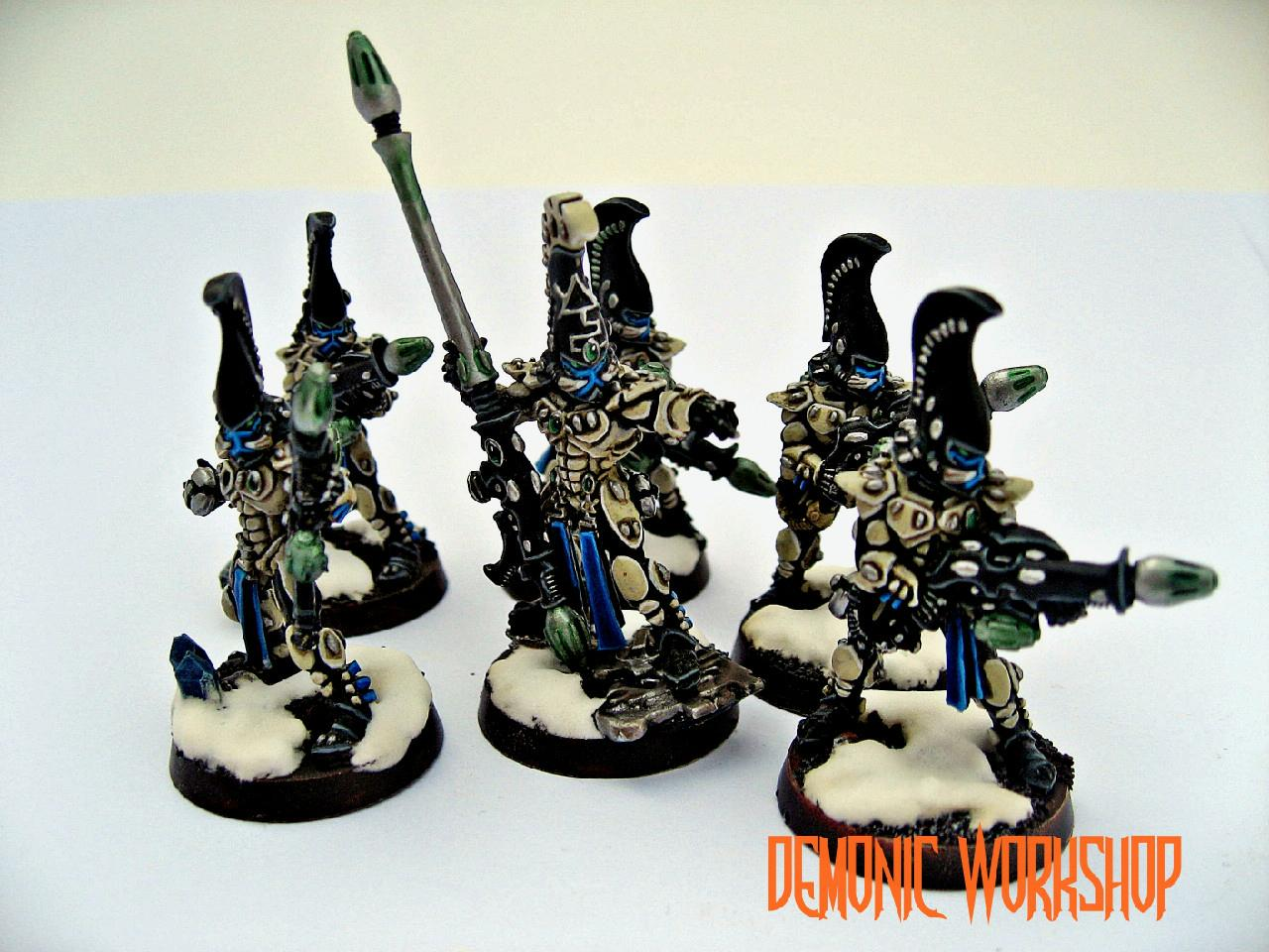 Demonic Workshop, Eldar, Exarch, Fire Dragon, Warhammer 40,000