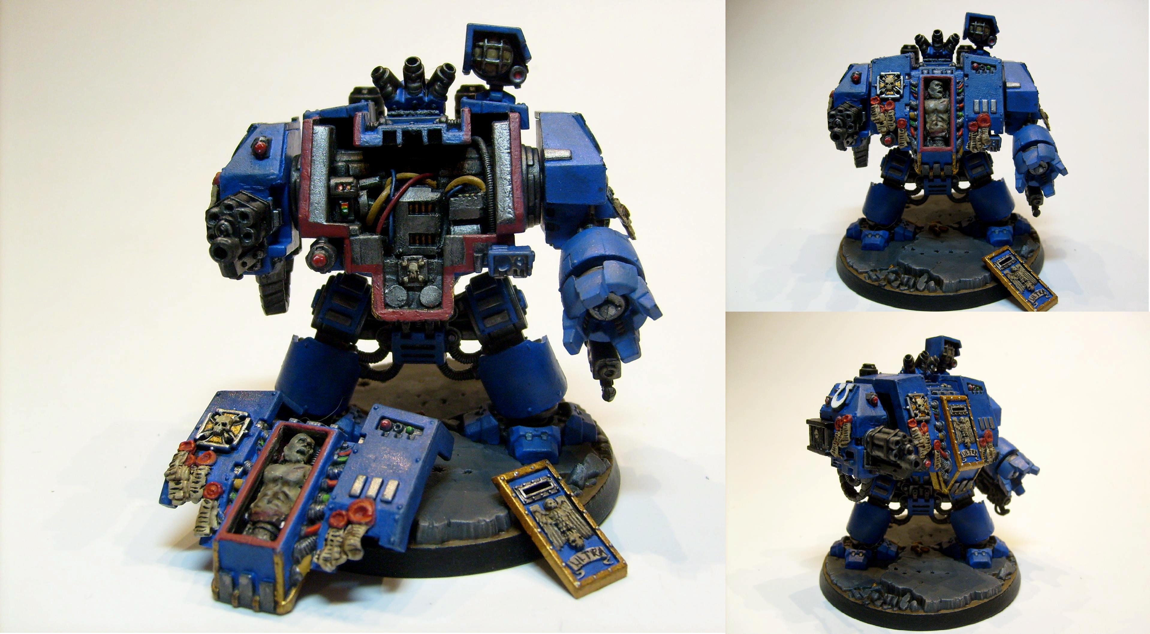 Dreadnought, Interior, Space Marines, Ultramarines