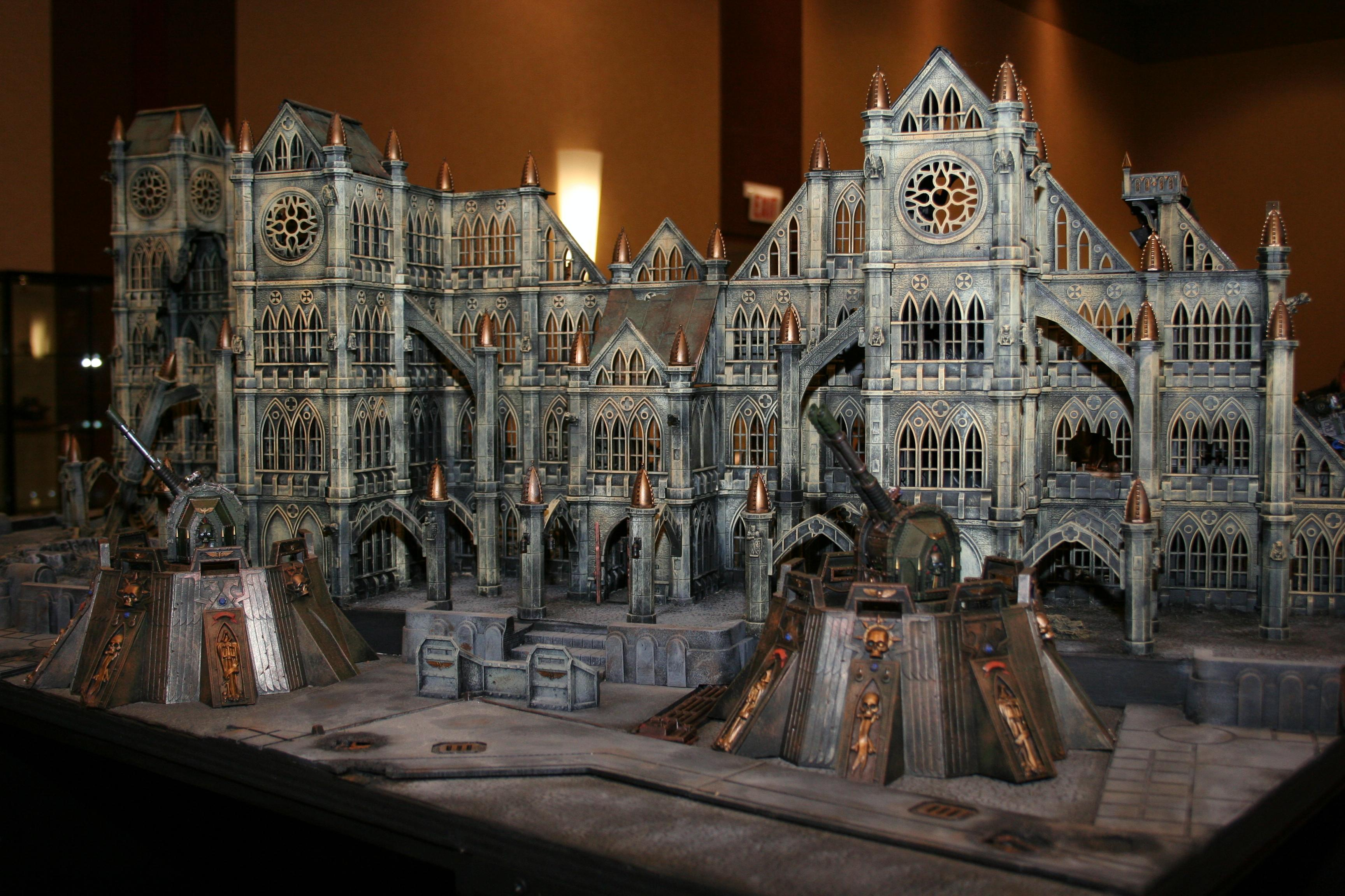Adepticon 2010, Big, City, Defense Laser, Fortress, Huge, Large, Pegasus, Terrain
