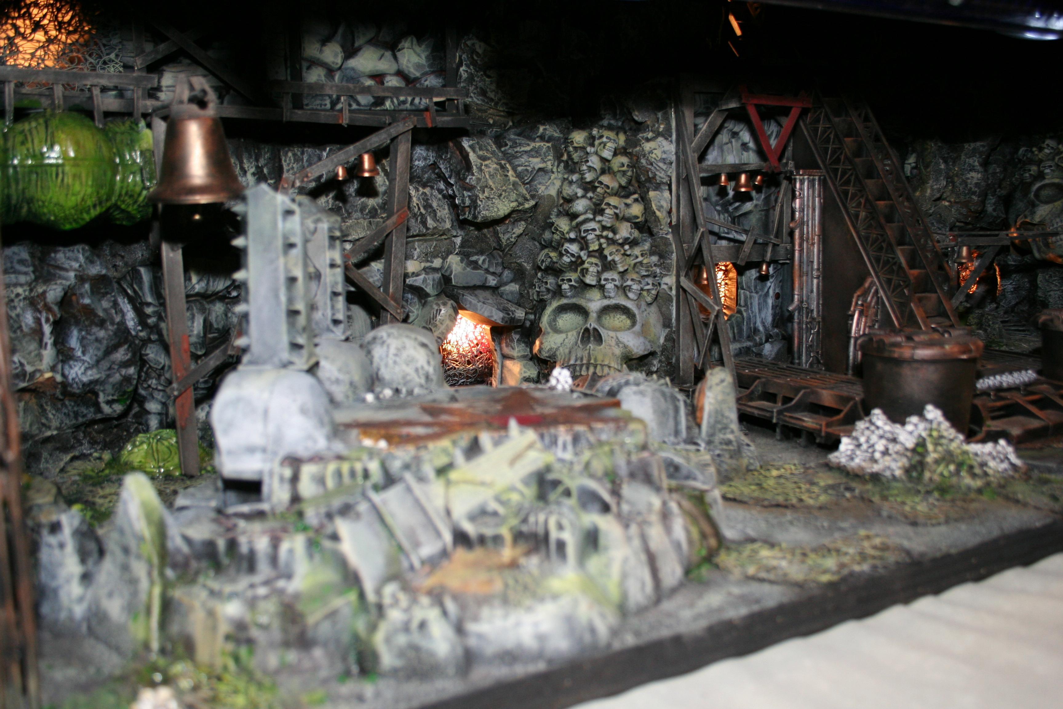 Adepticon 2010, Game Board, Skull, Terrain, Underground