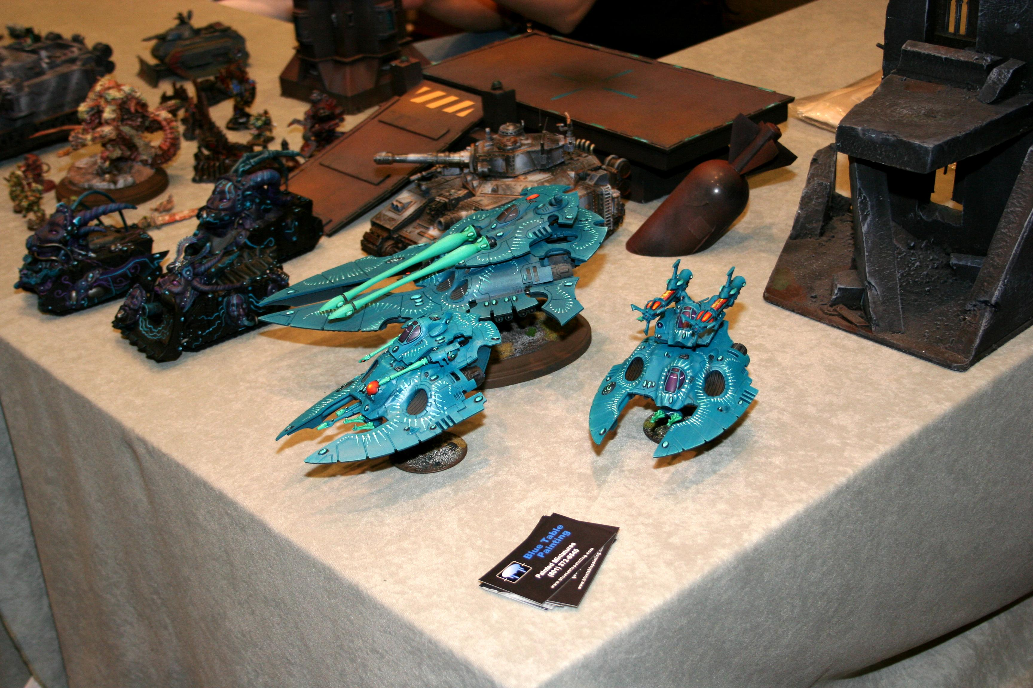 Adepticon 2010, Blue Table Painting