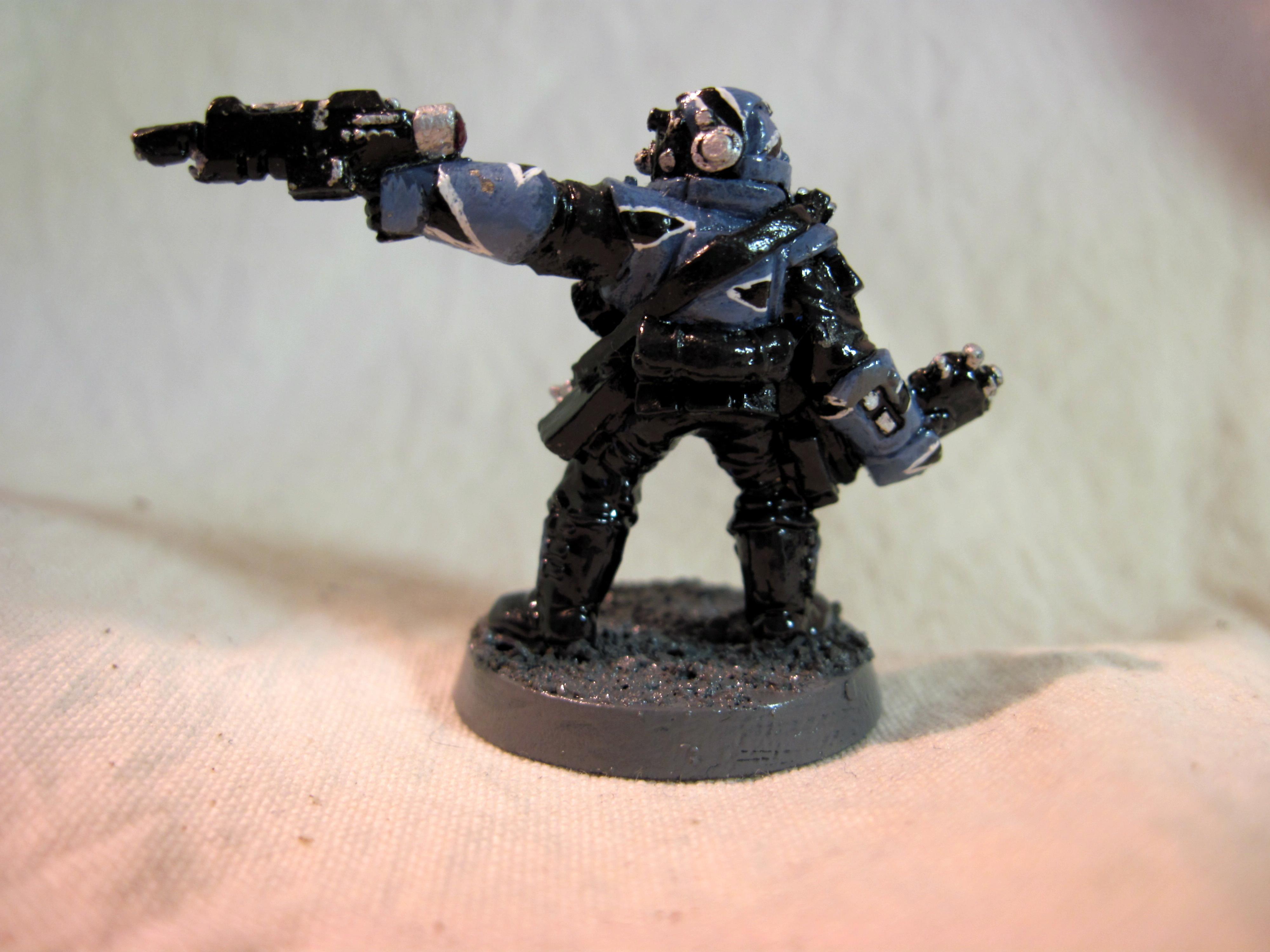 Imperial Guard, Karskin, Sergeant, Storm Troopers