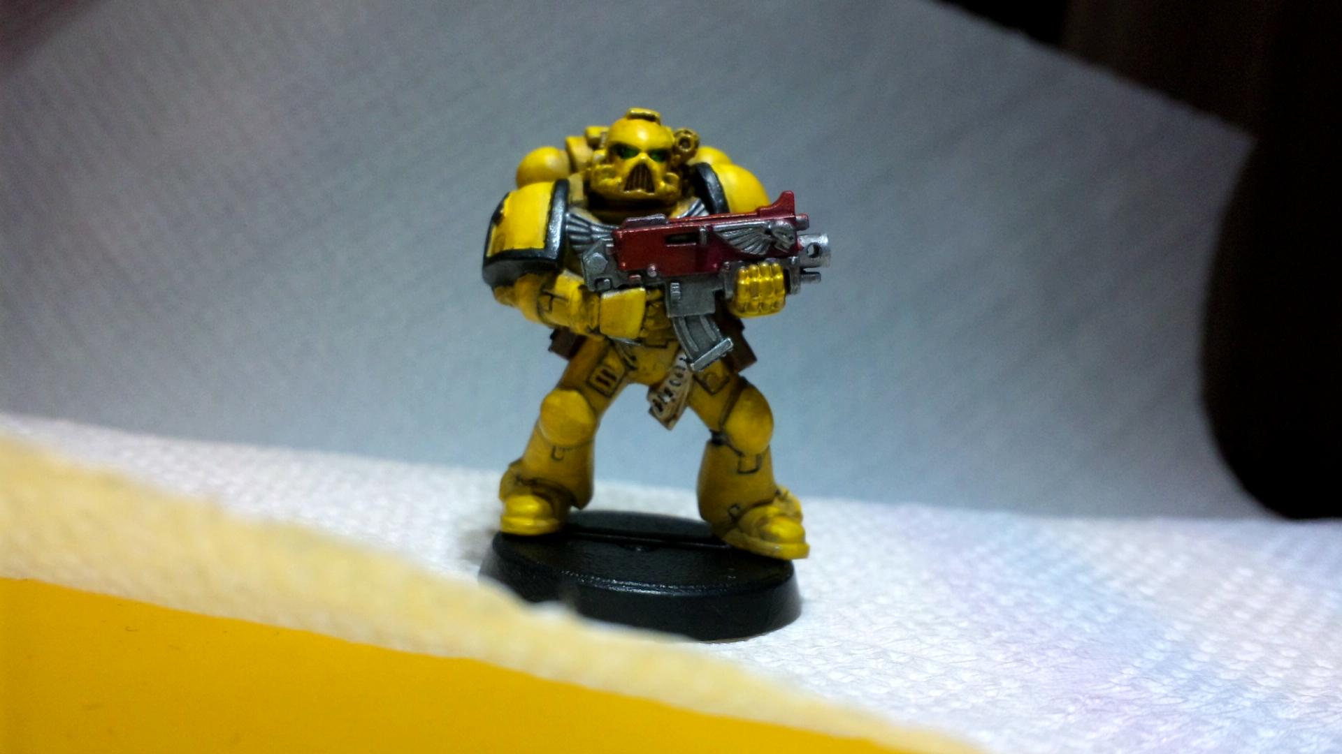 Imperial Fists, Space Marines, Work In Progress