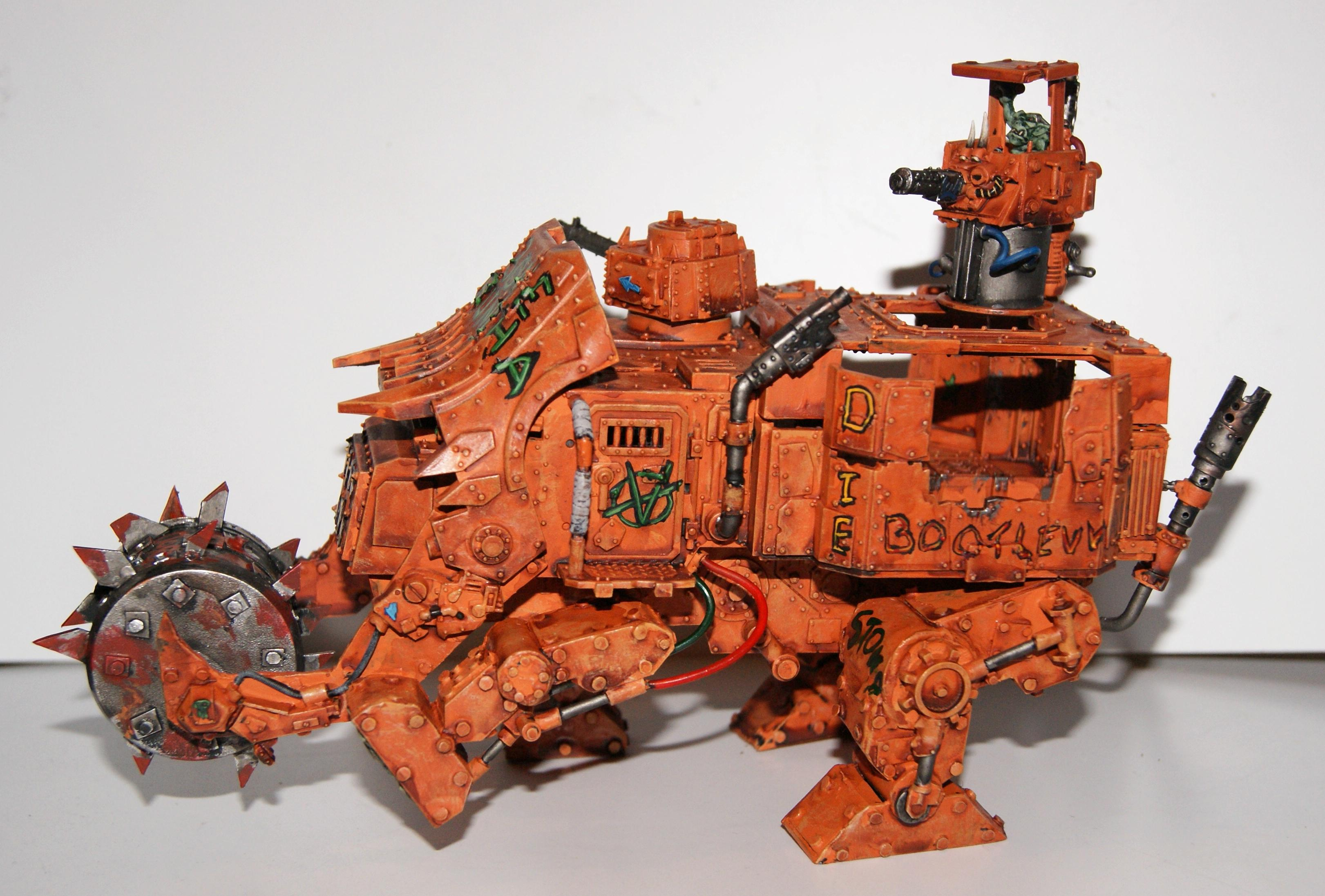 Battlewagon, Conversion, Grot Rebellion, Grot Rebels, Warhammer 40,000, Work In Progress