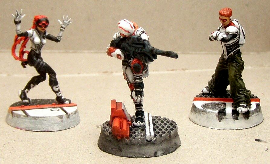 Infinity, Nomads, Snipers, Spektr, Work In Progress