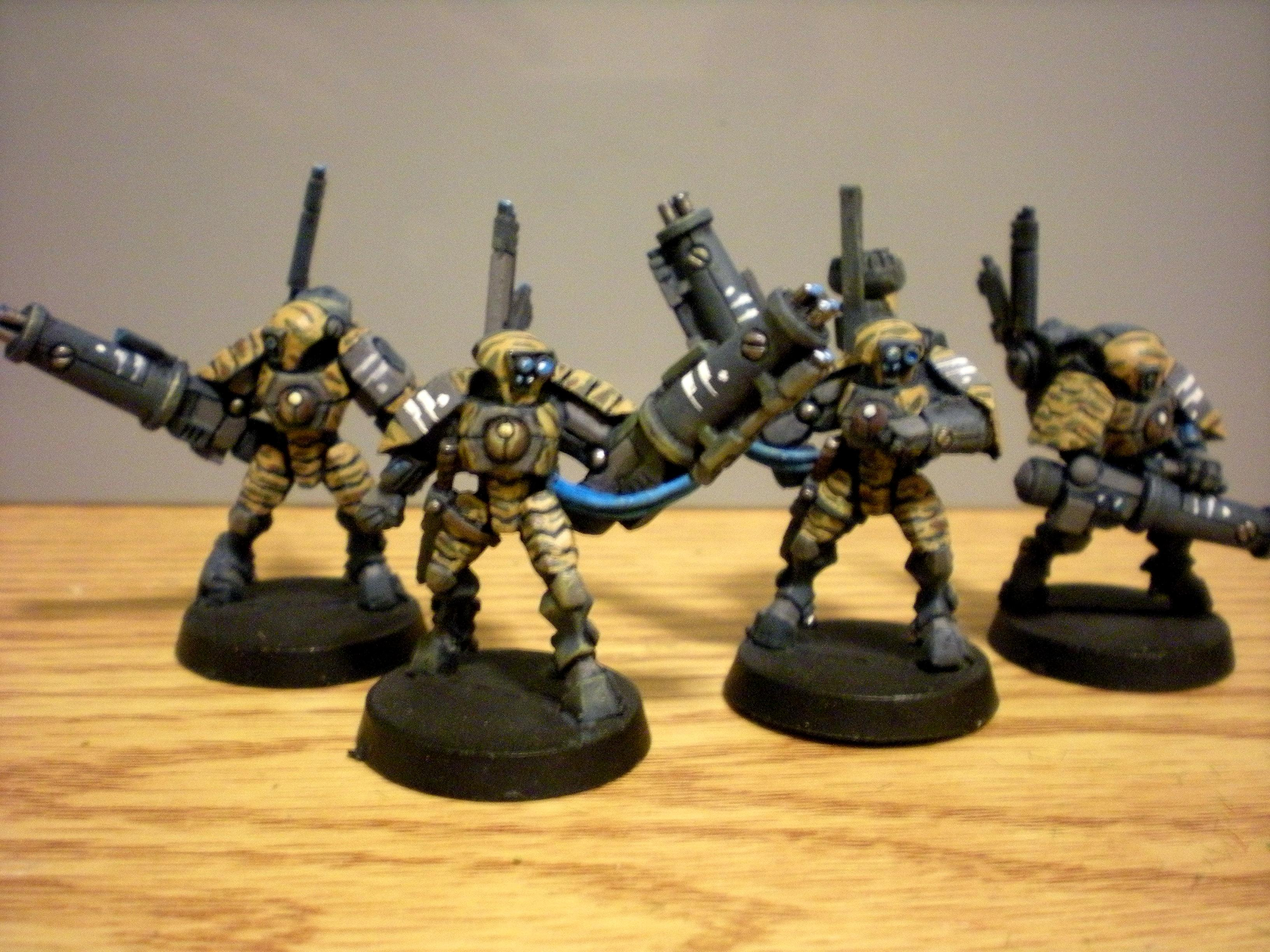 Battlesuit, Conversion, Tau, Tau Camo Stealth Suit, Tau Conversions, Tau Stealth Suit