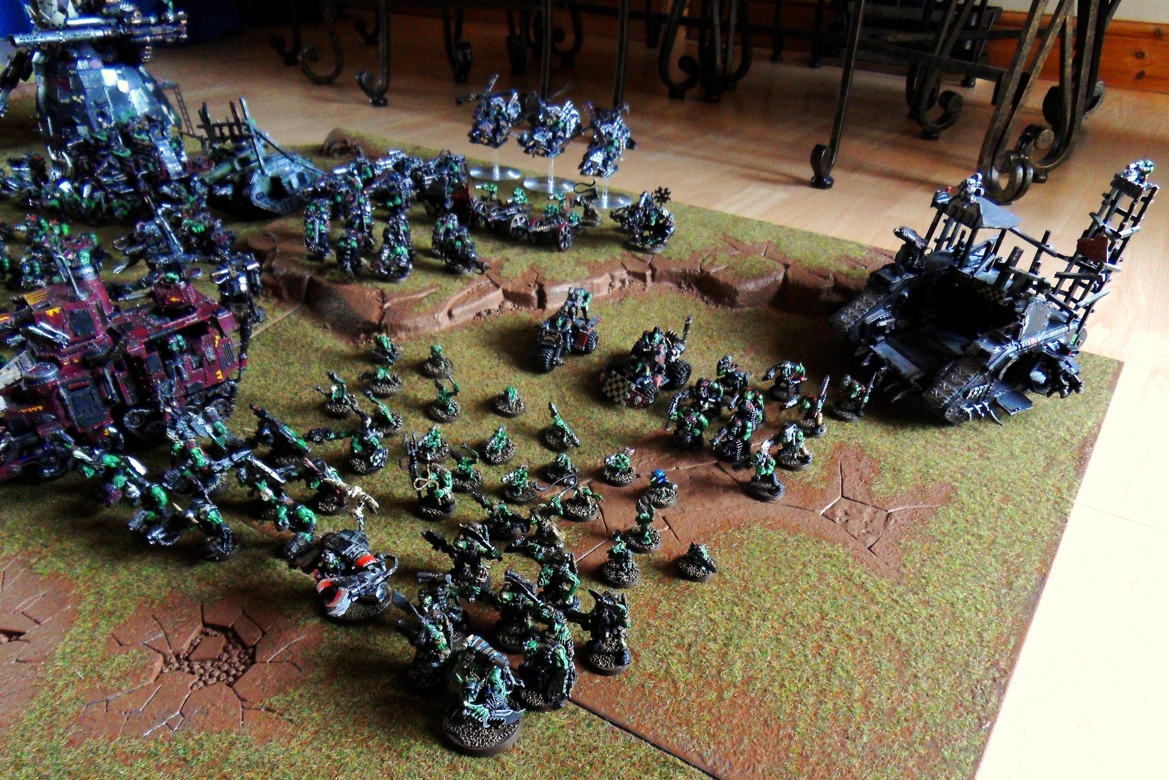 Ork Army, Orks, Waaaaagh Graznacker KillKlaw 3