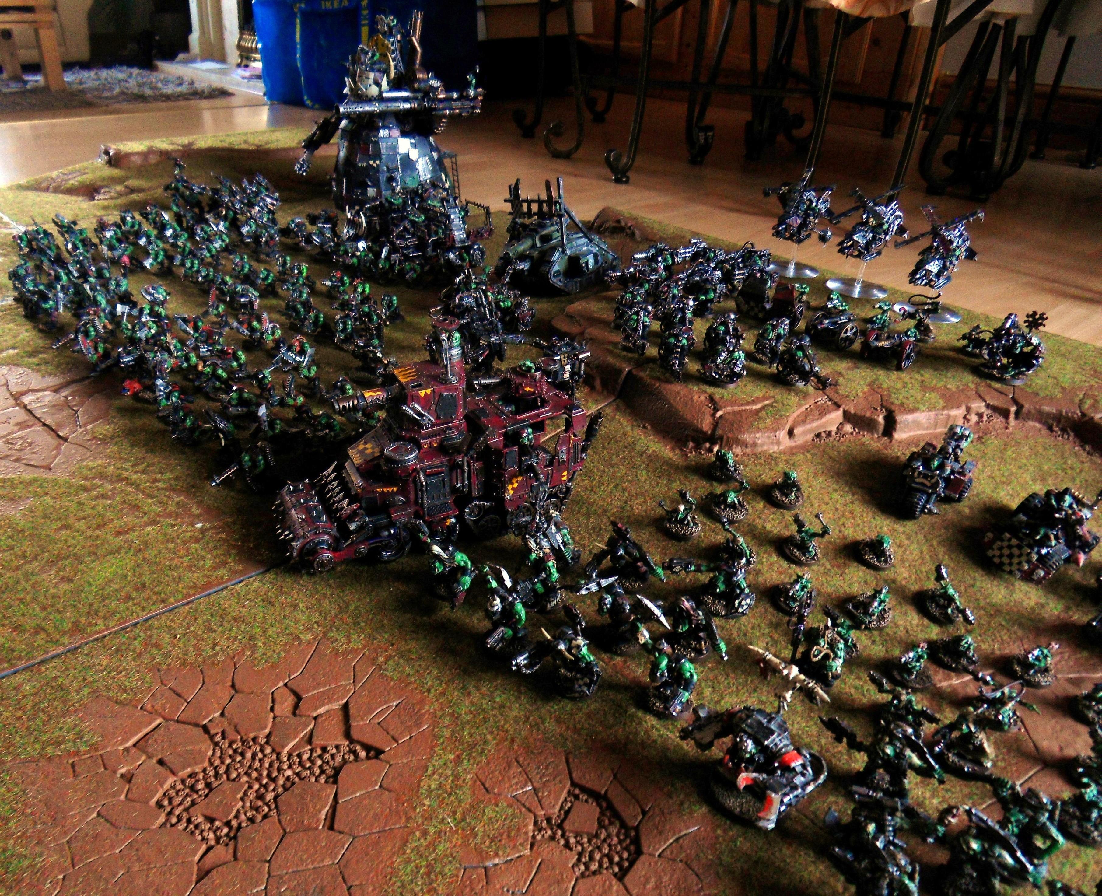 Ork Army, Orks, Waaaaagh Graznacker KillKlaw 4