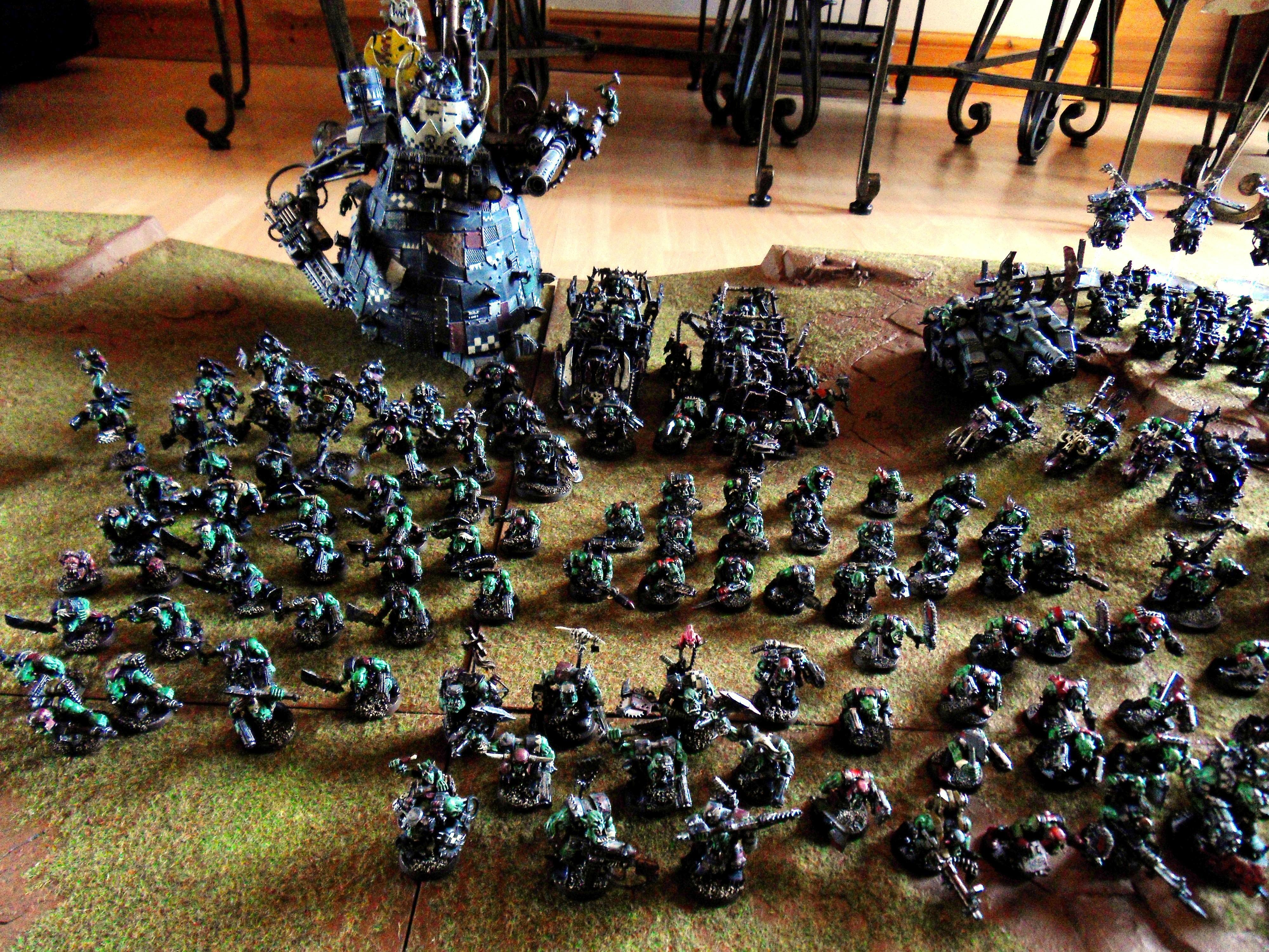 Ork Army, Orks, Waaaaagh Graznacker KillKlaw 7
