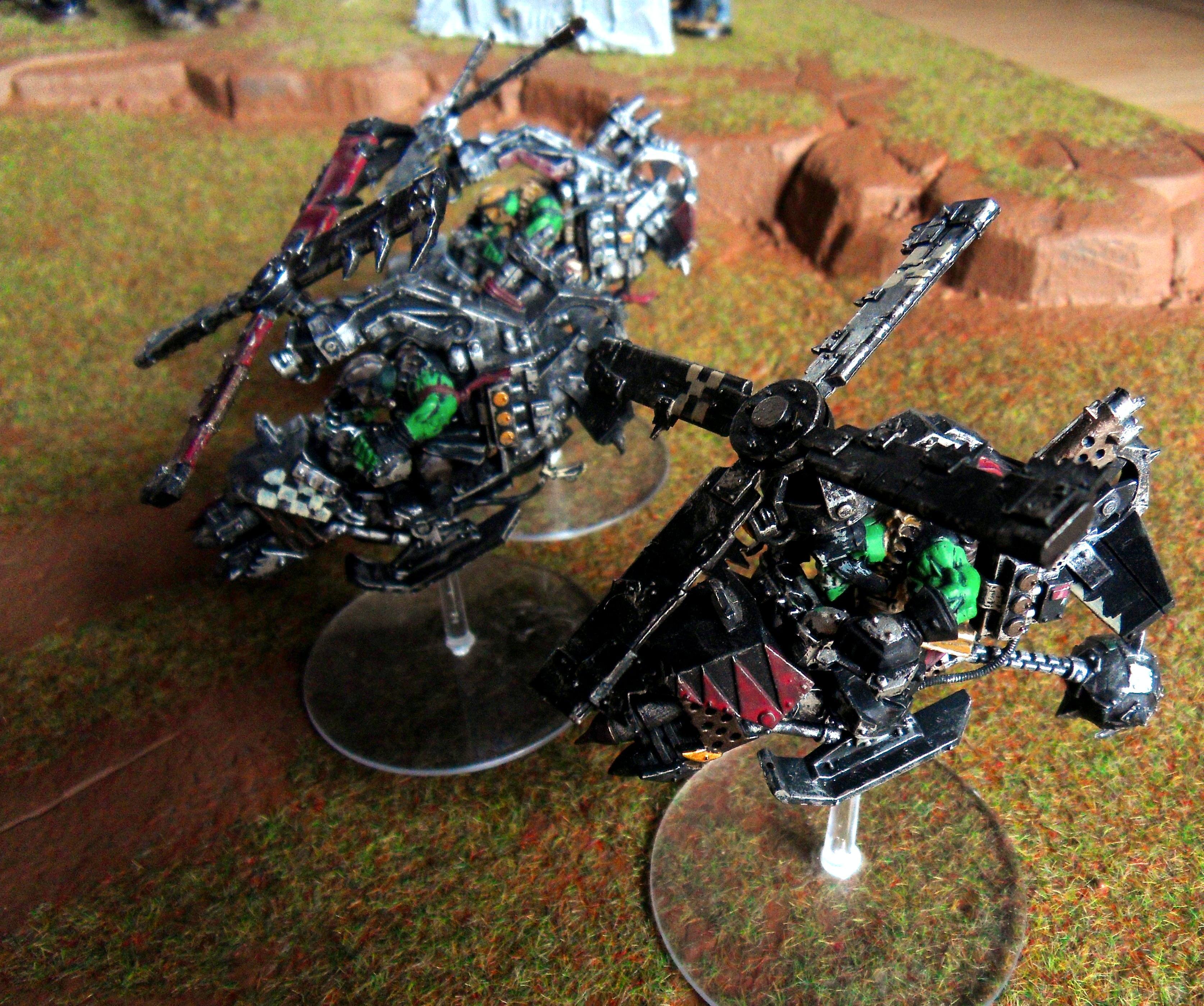 Assault On Black Reach, Deff Dread, Orks, Warhammer 40,000