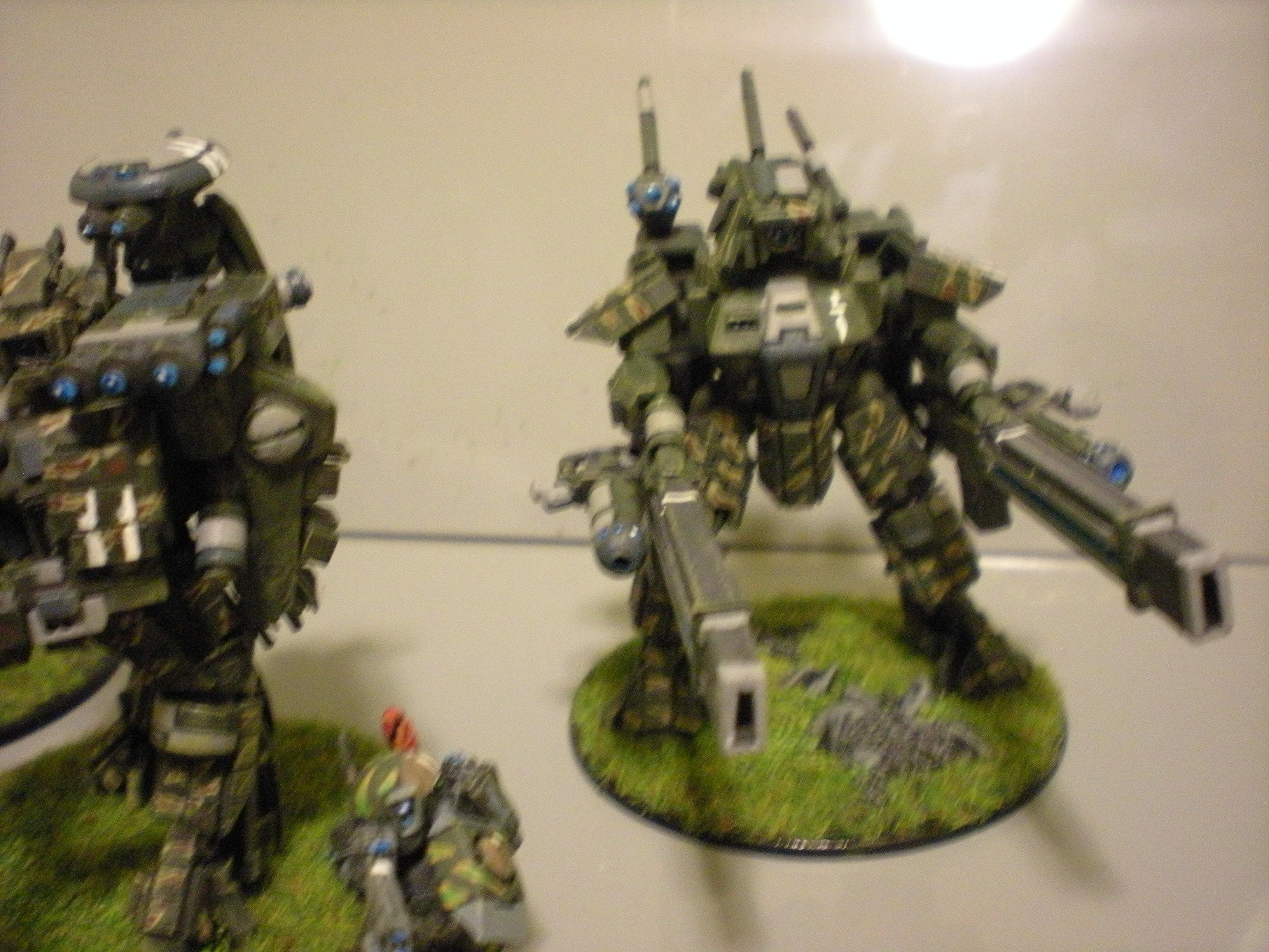 Battlesuit, Blurred Photo, Broadsides, Conversion, Tau, Tau Conversions, Warhammer 40,000