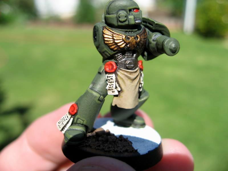 Space Marines, Plasma Marine Pre-Weapon
