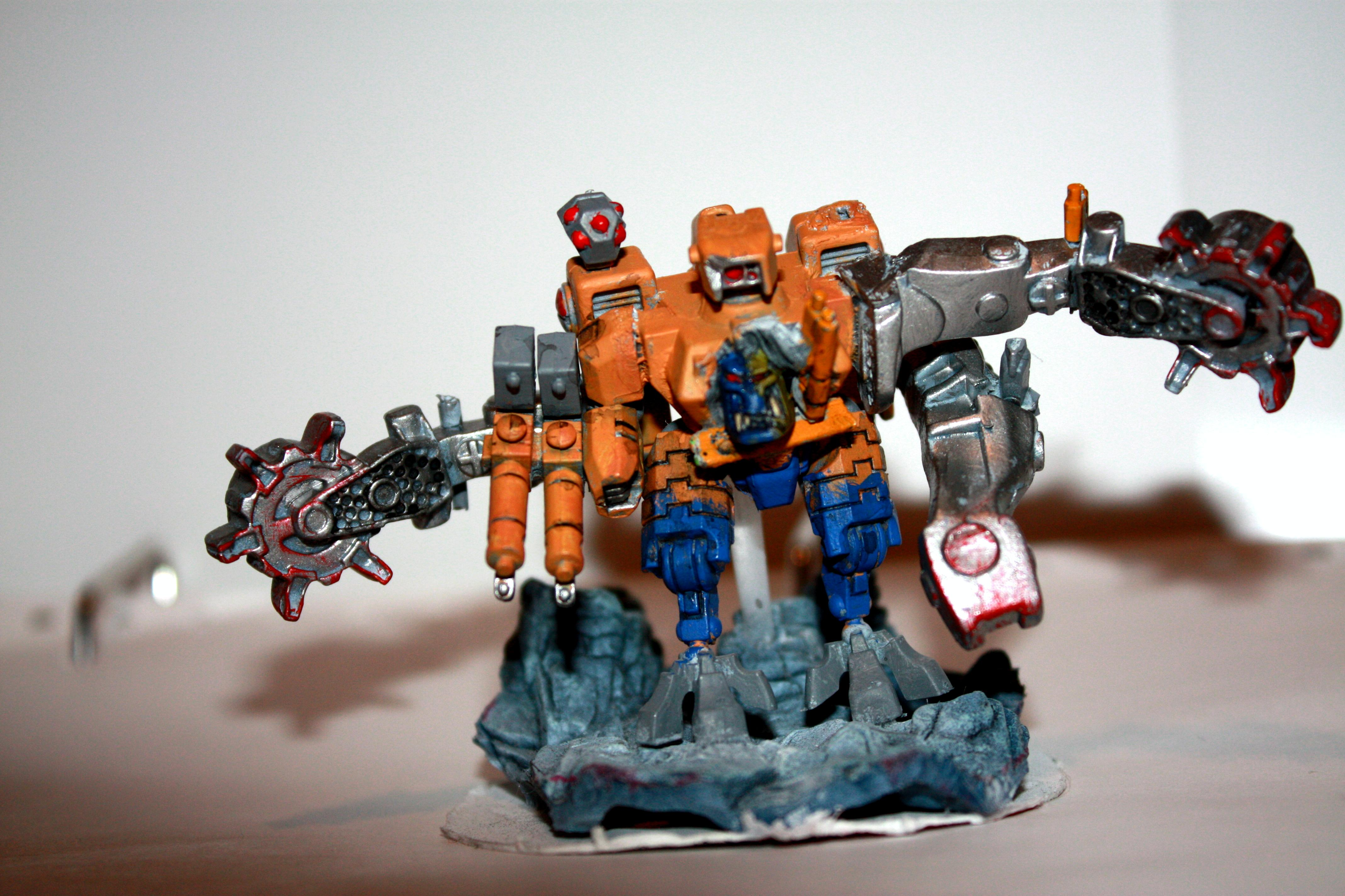 Deff, Dreadnought, Kit Bash, Looted, Orks