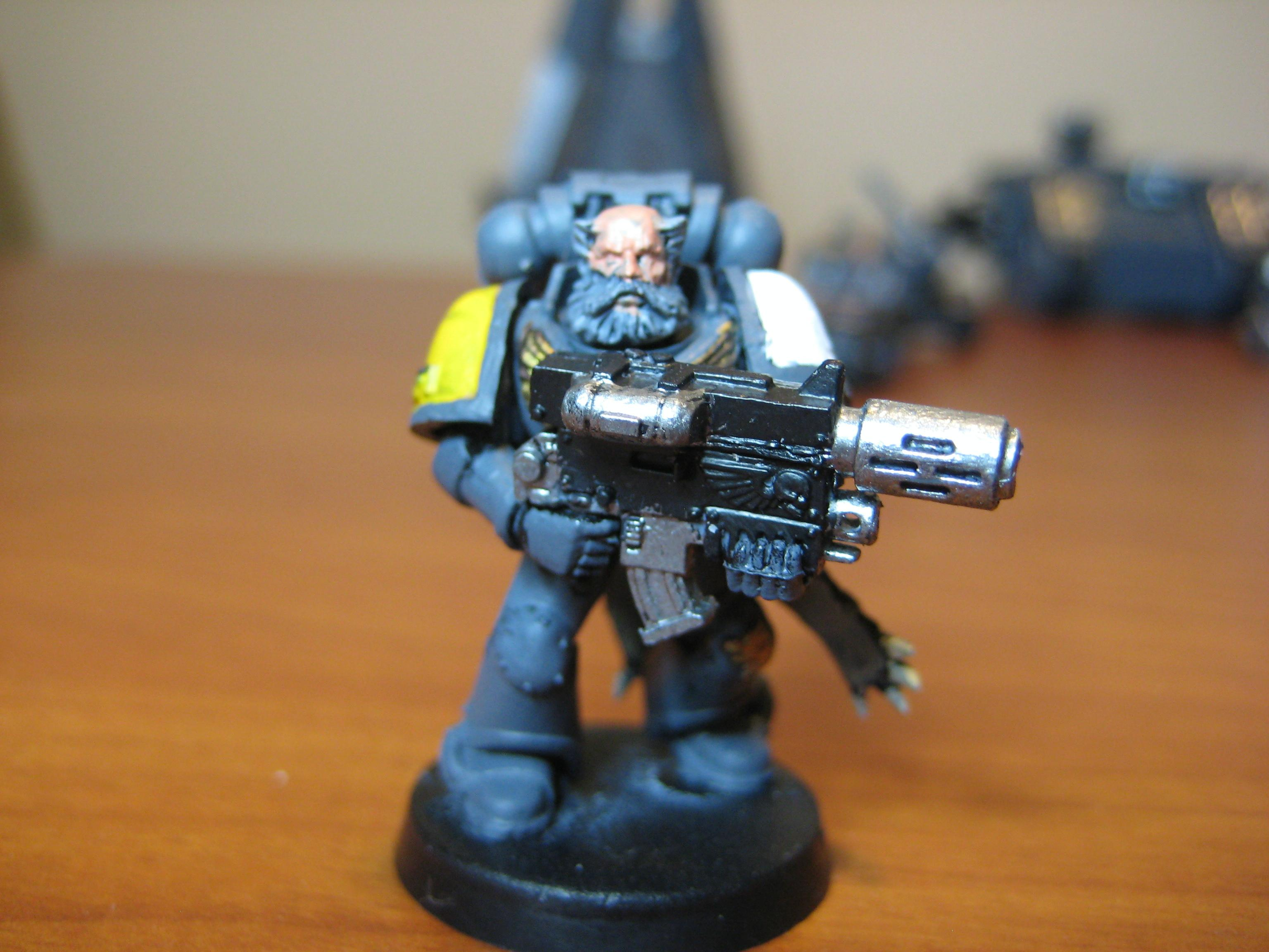 Combi-melta, Scratch Build, Space Marines, Space Wolves, Wolf Guard