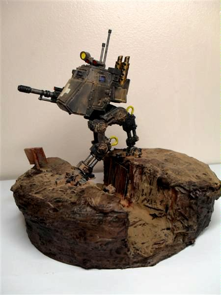 Diorama, Imperial, Imperial Guard, Trench, World War 2