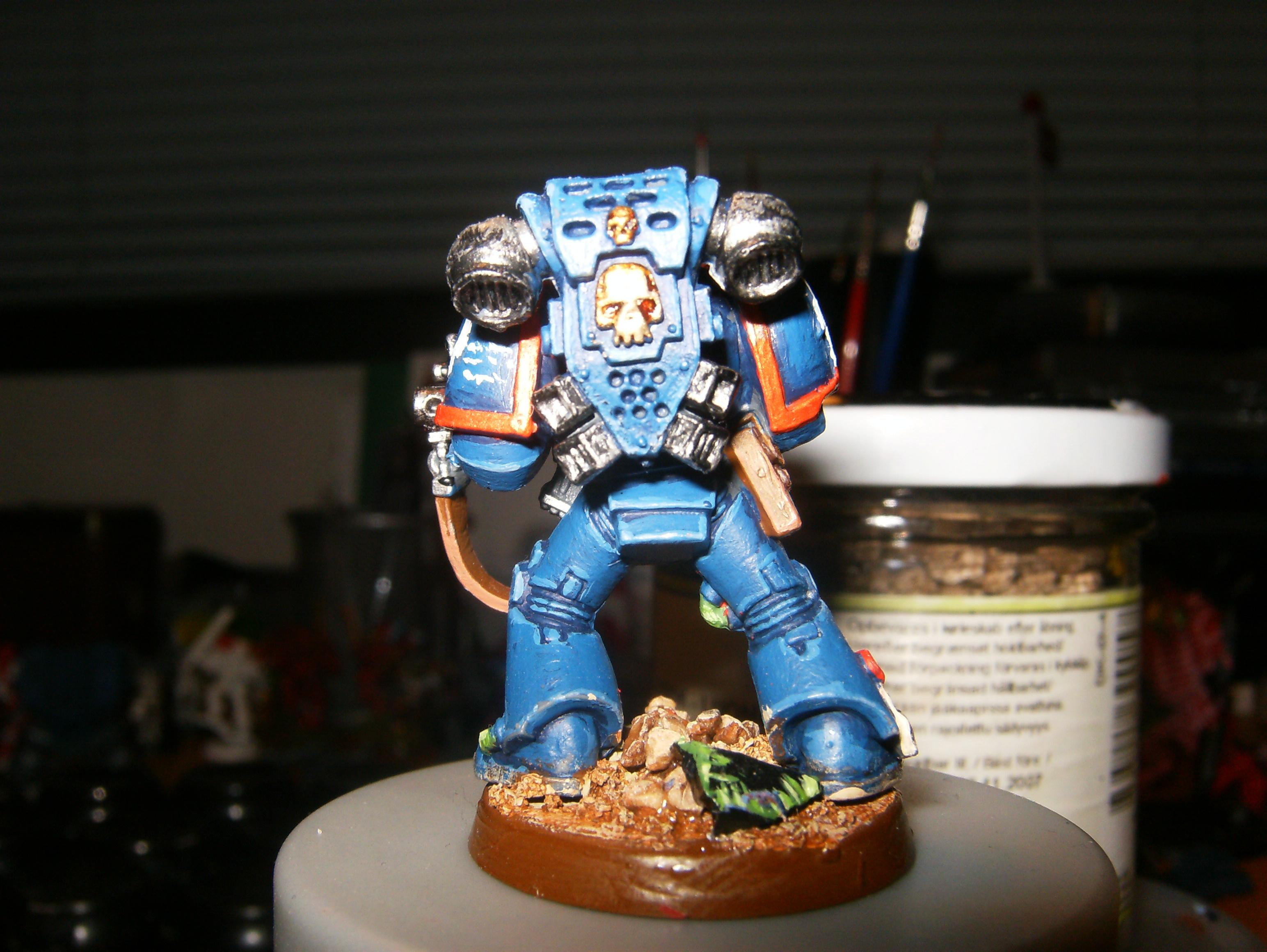 Space Marines, Tactical Squad, Ultramarines