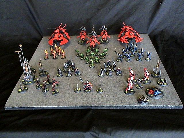 Army, Eldar, Saim-hann, Warhammer 40,000