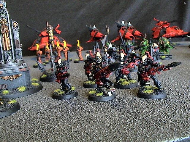 Dark Reapers, Eldar, Saim-hann, Warhammer 40,000