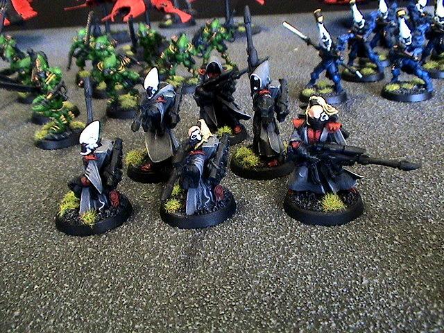 Eldar, Pathfinders, Saim-hann, Warhammer 40,000